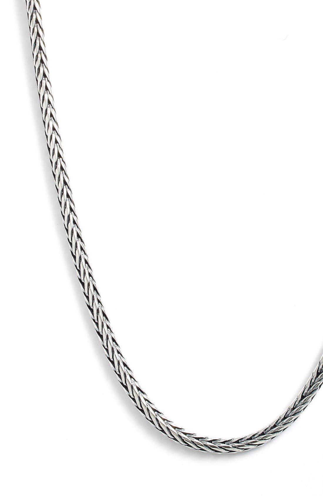 Sterling Silver Chain,                             Alternate thumbnail 4, color,                             SILVER