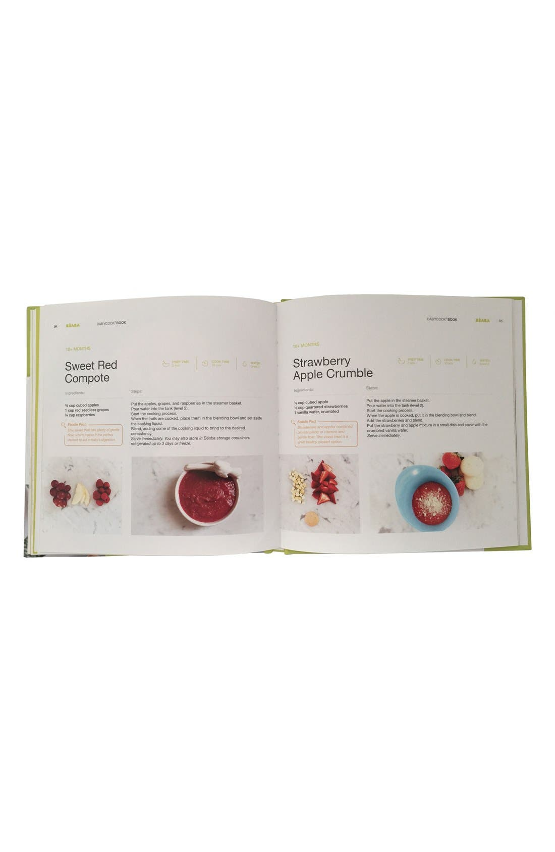 'Babycook<sup>®</sup> Book: Recipes For a Healthy Eater - New Edition' Recipe Book,                             Alternate thumbnail 4, color,                             WHITE