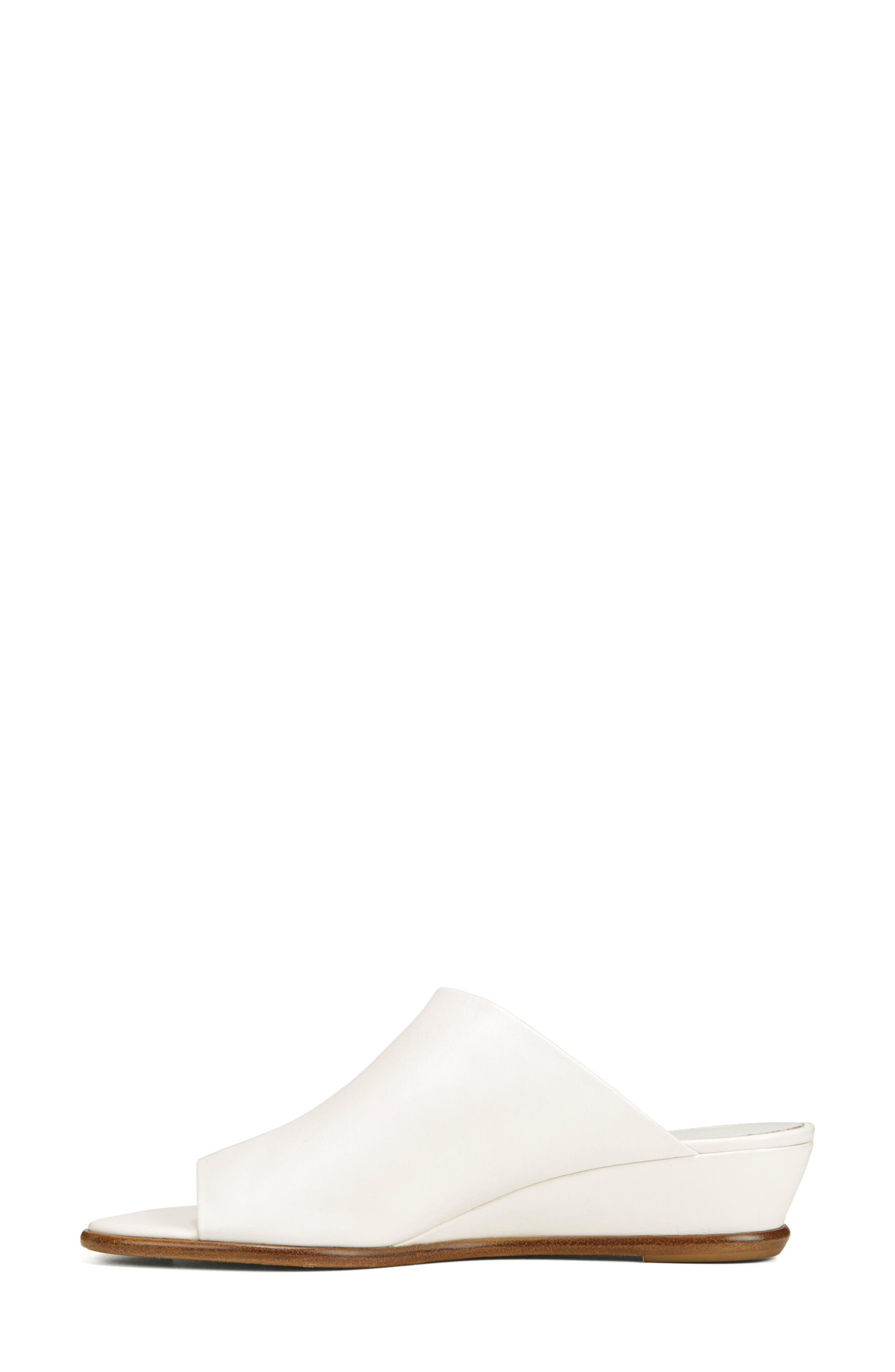 VINCE,                             Duvall Asymmetrical Wedge Sandal,                             Alternate thumbnail 9, color,                             OFF WHITE