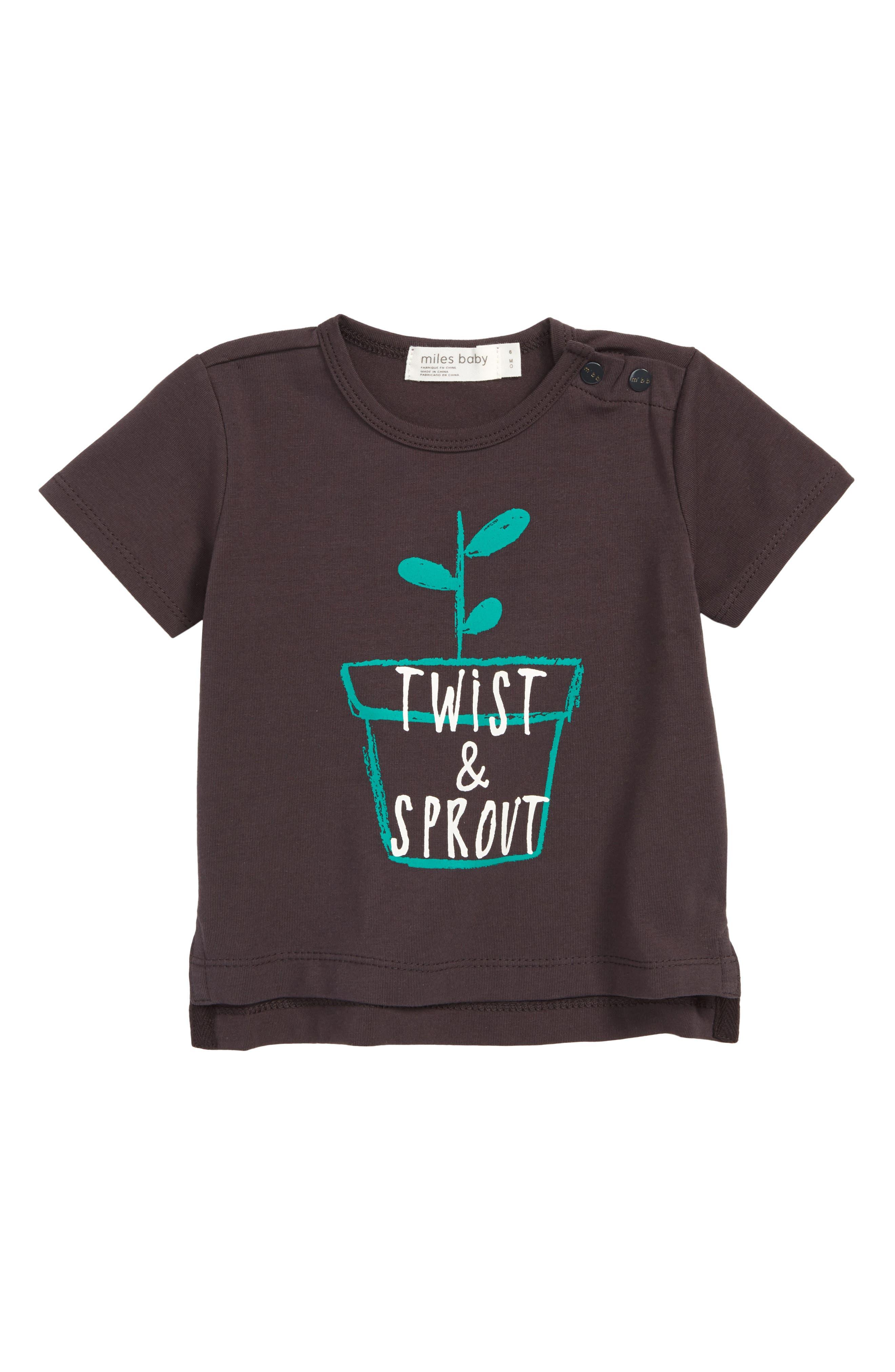 Twist & Sprout Graphic T-Shirt,                             Main thumbnail 1, color,                             021