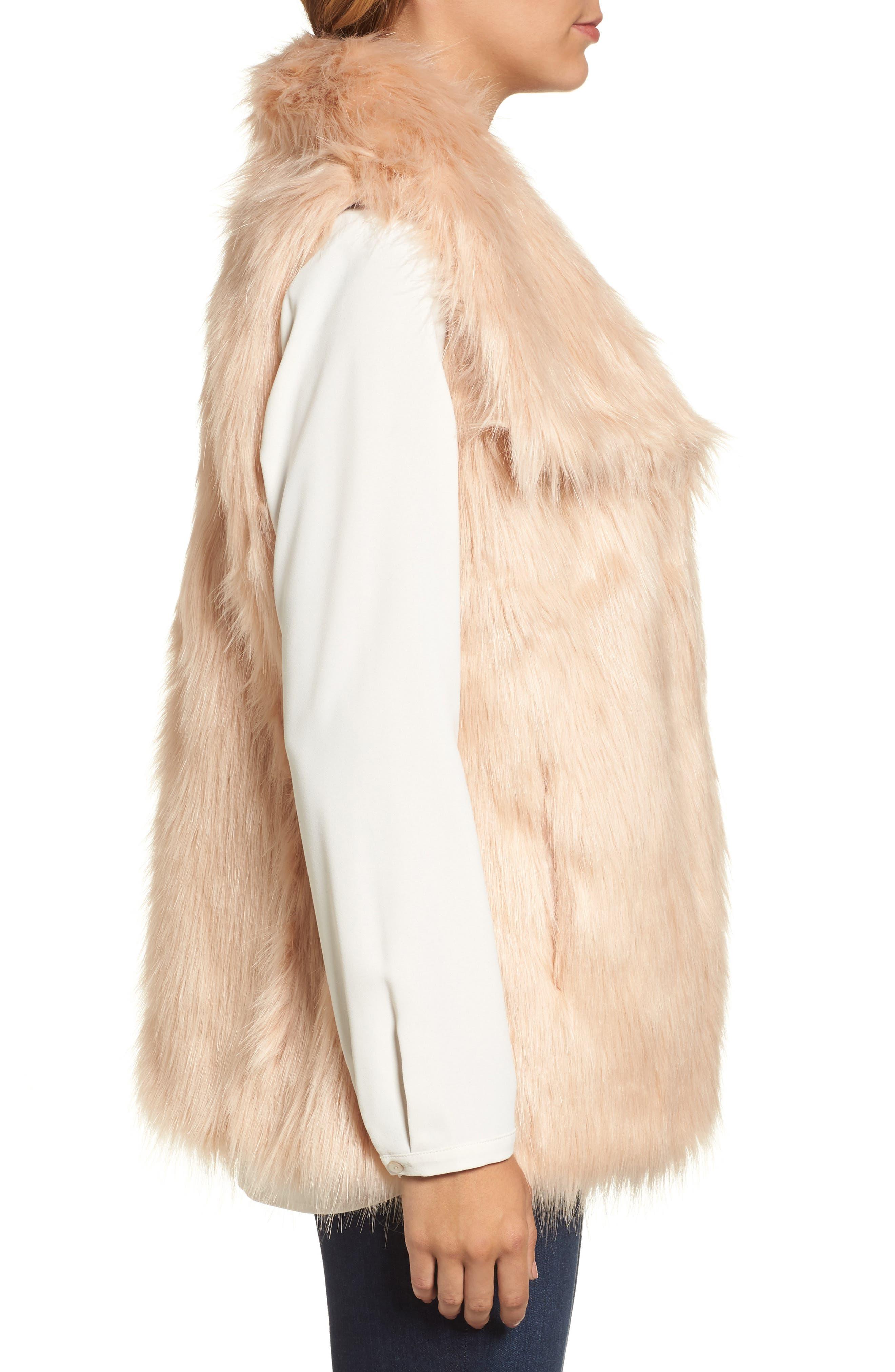 Faux Fur Vest,                             Alternate thumbnail 10, color,