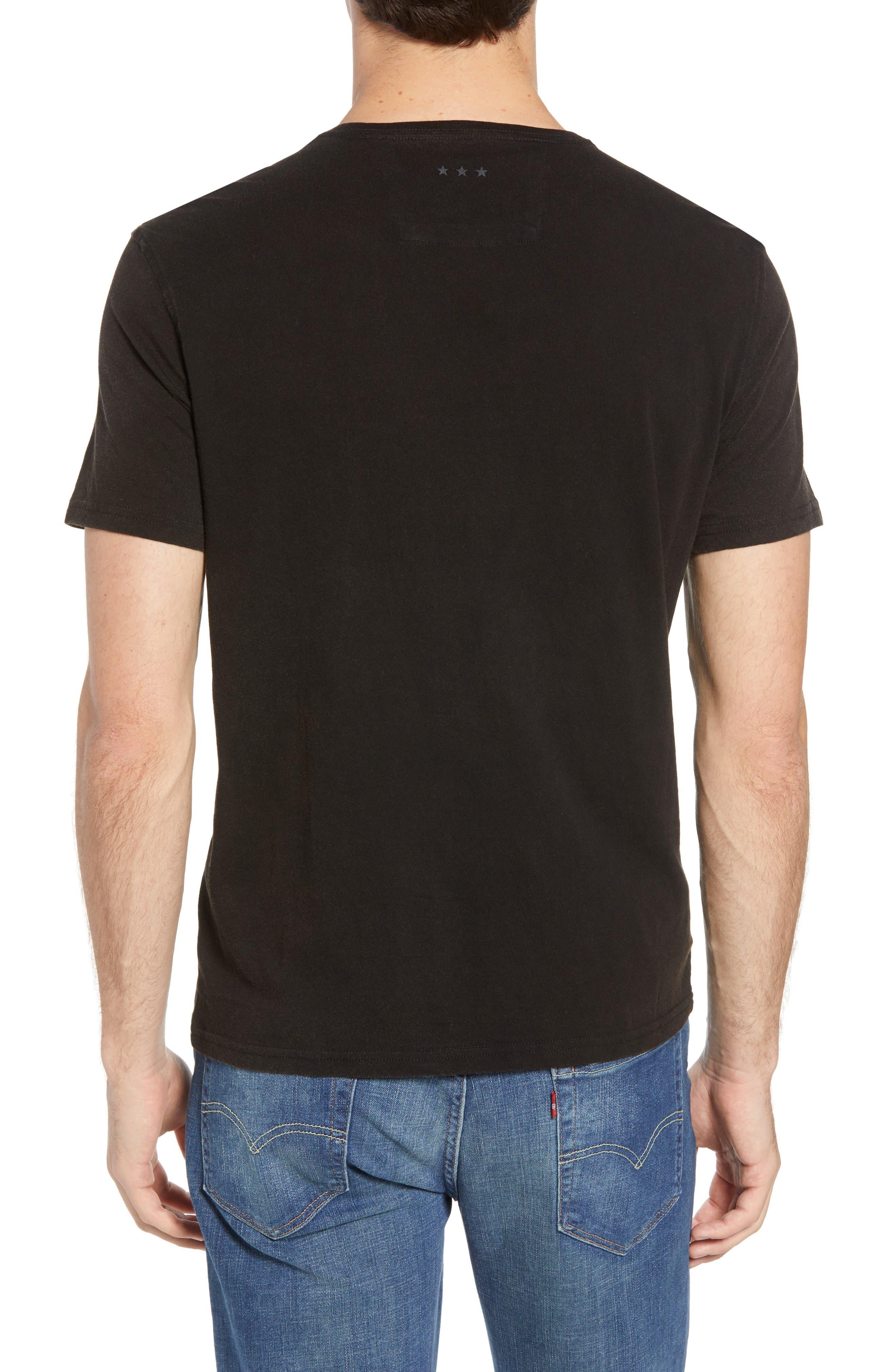 Guitar Rows Crewneck T-Shirt,                             Alternate thumbnail 2, color,