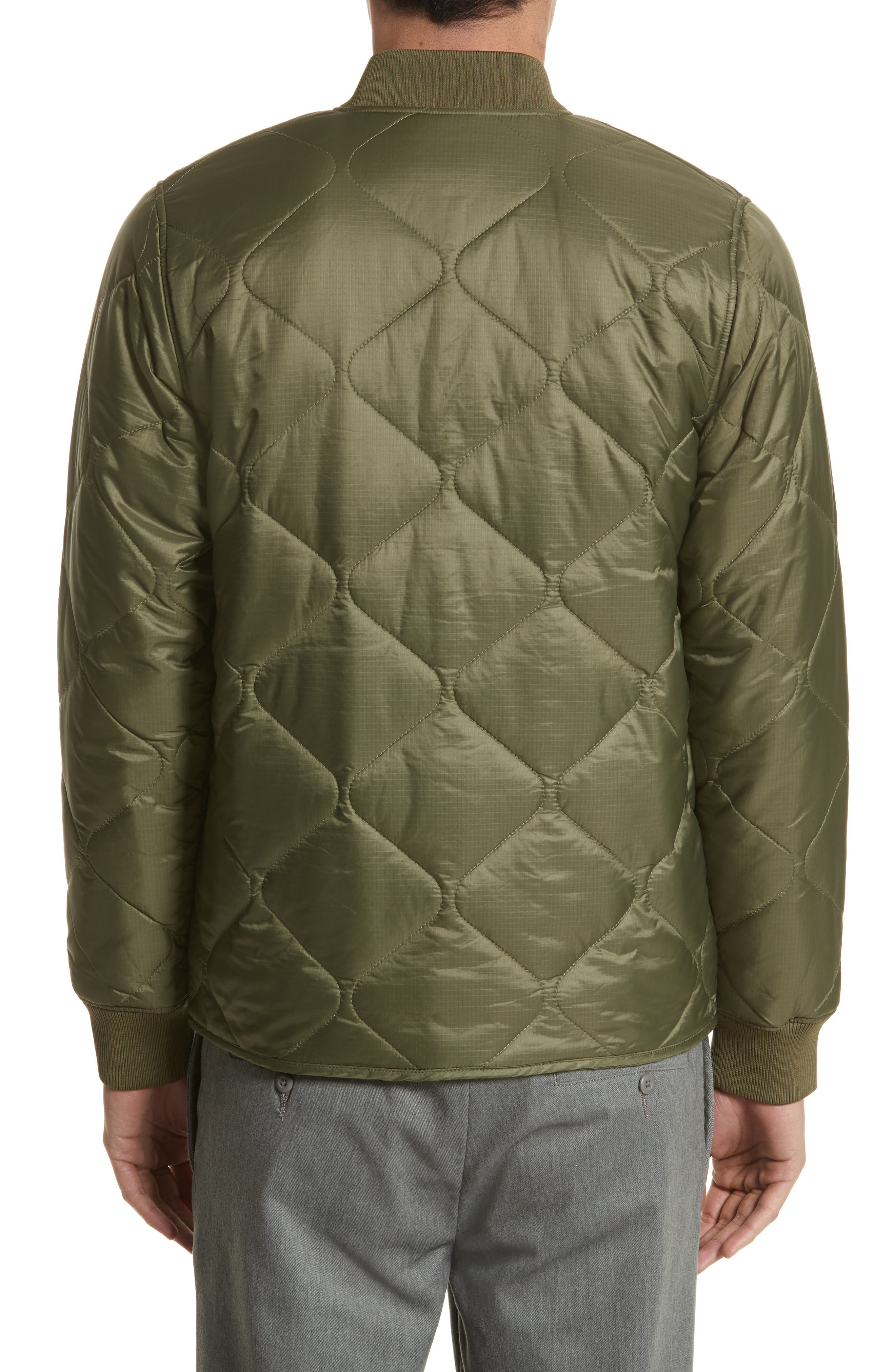 Quilted Ripstop Bomber Jacket,                             Alternate thumbnail 2, color,                             312