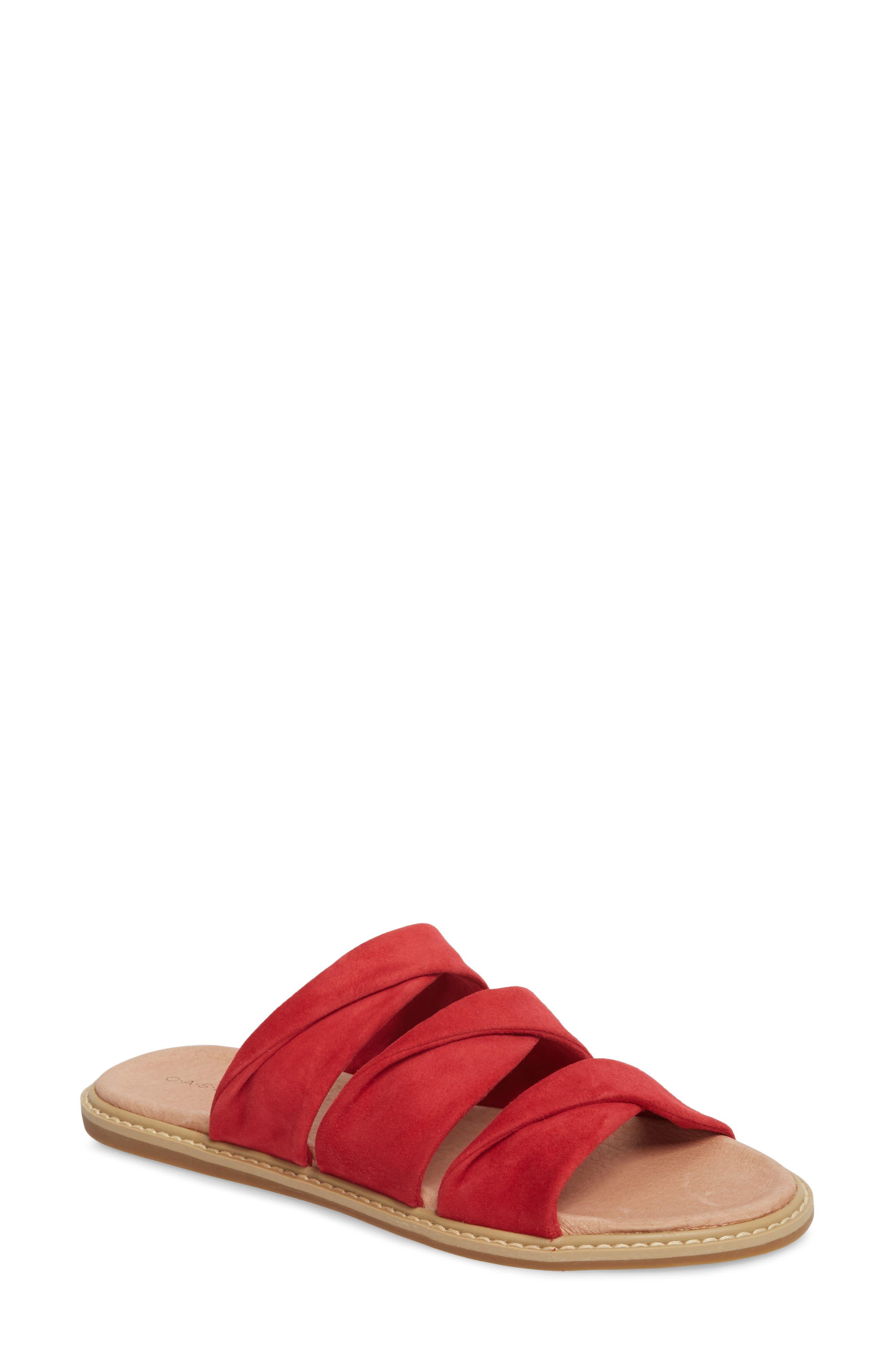 Cooper Slide Sandal,                             Main thumbnail 4, color,