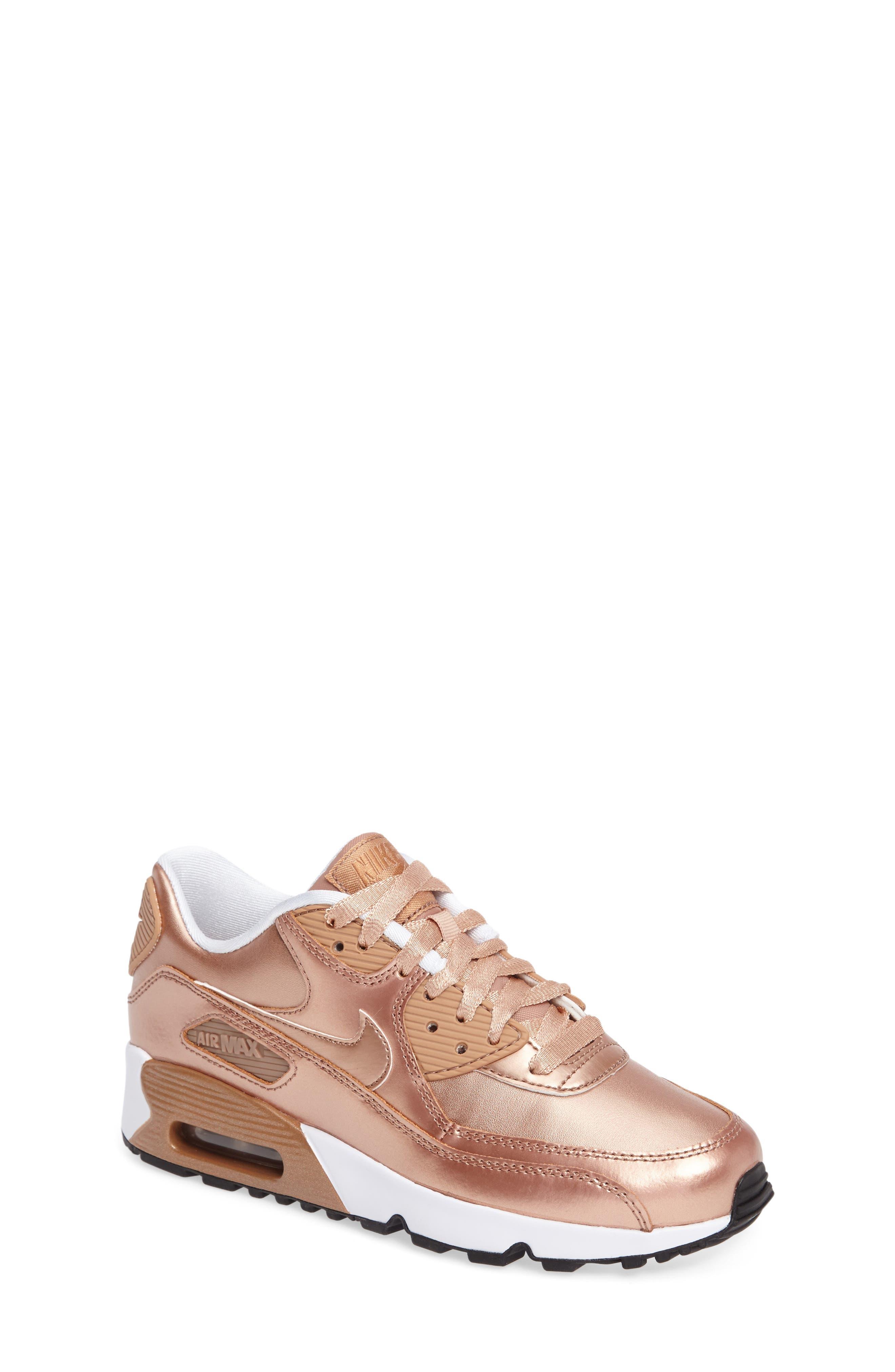 Air Max 90 SE Sneaker,                             Alternate thumbnail 4, color,