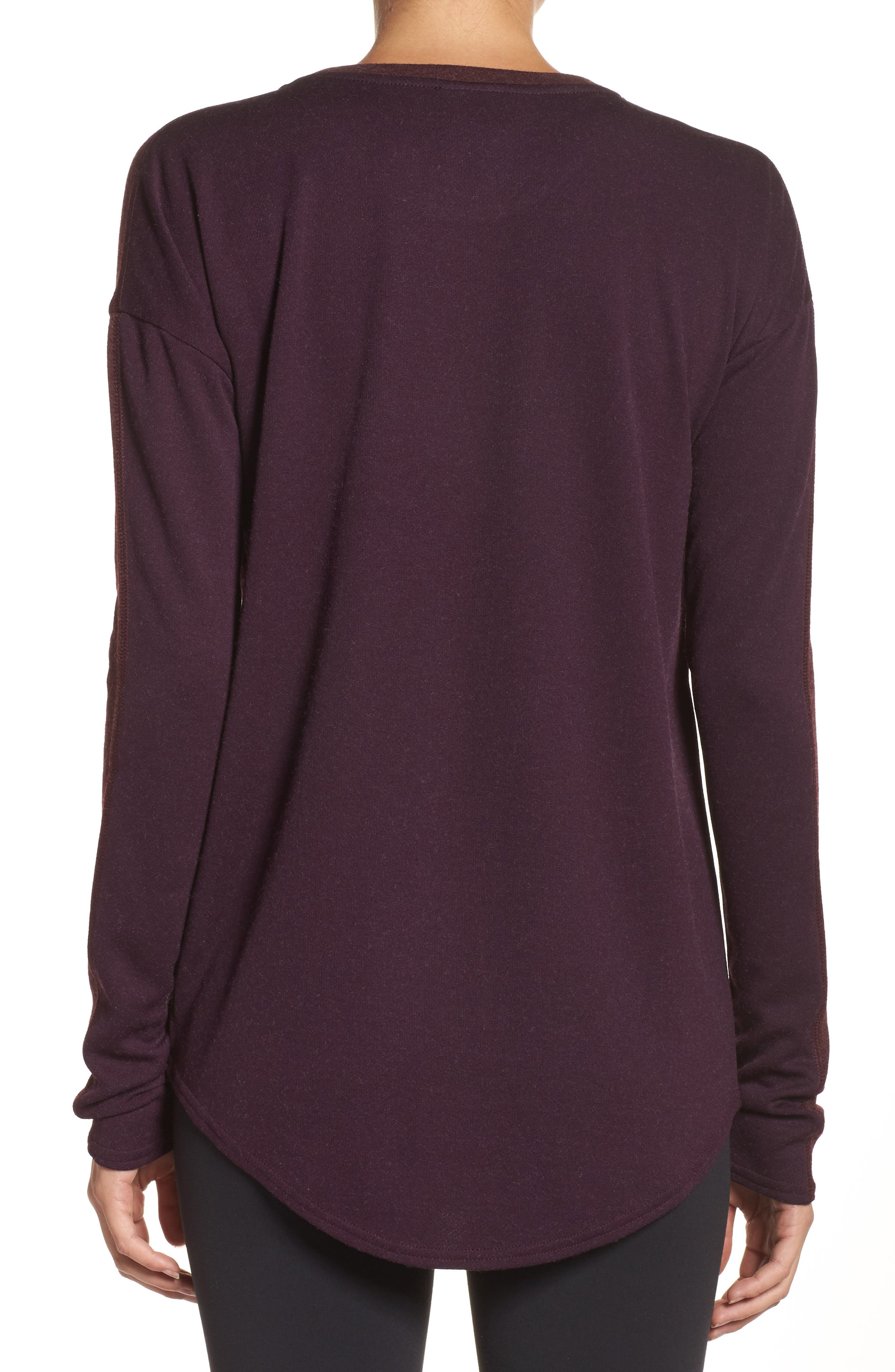 247 Luxe Long Sleeve Tee,                             Alternate thumbnail 2, color,                             930