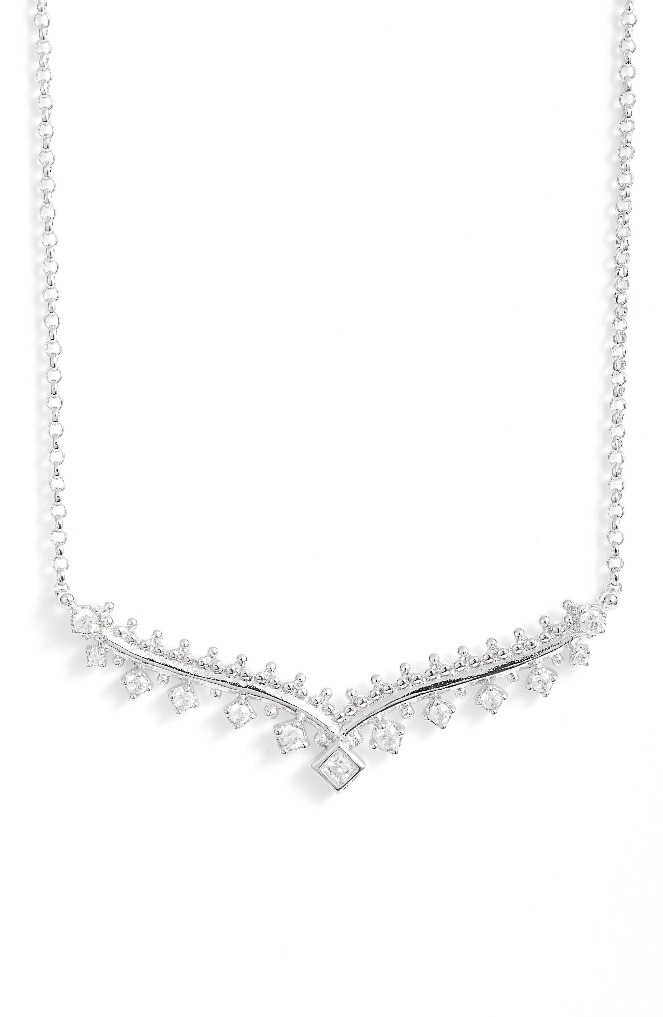 Vern Frontal Necklace,                             Main thumbnail 1, color,                             040