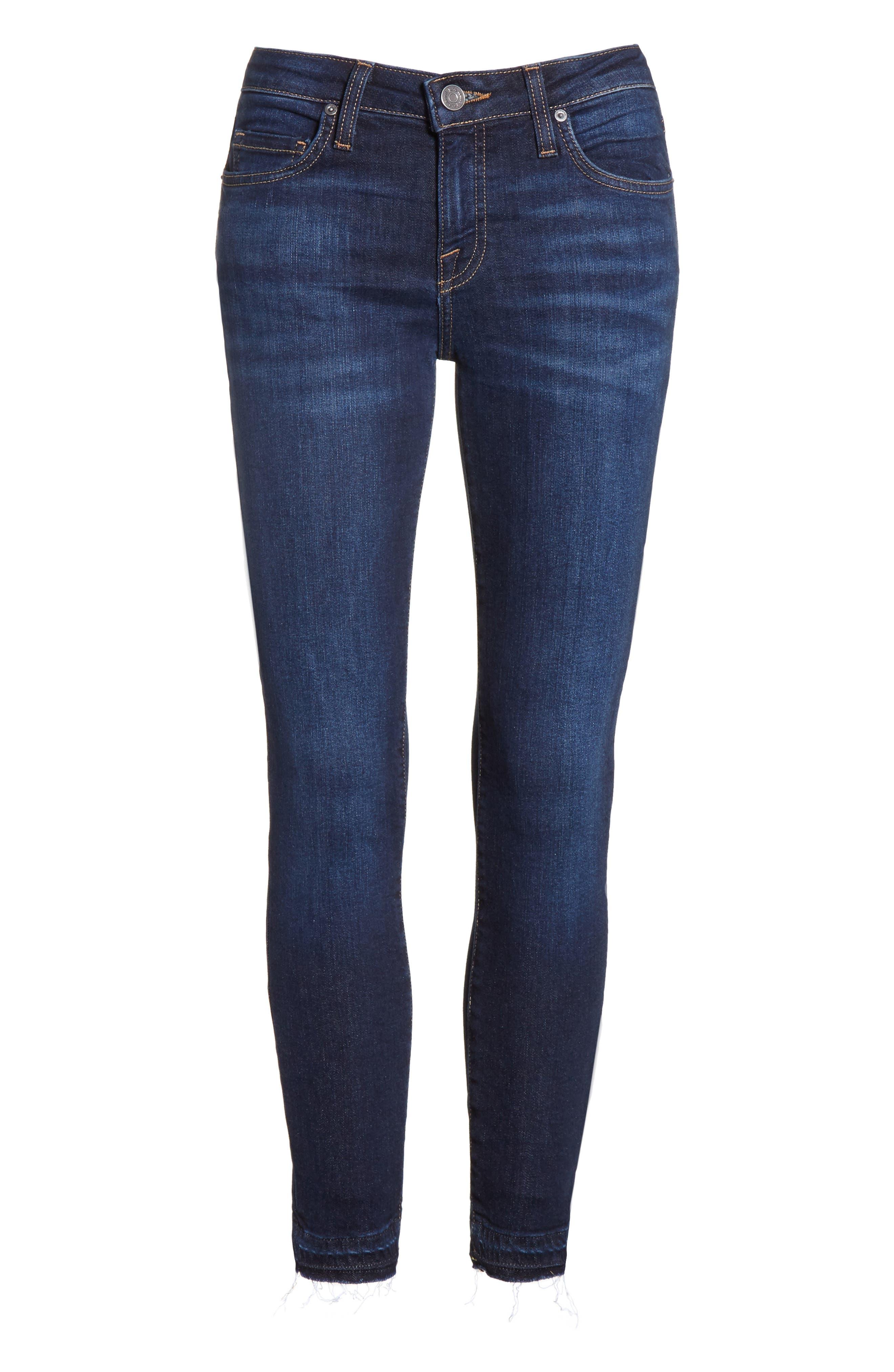 Ankle Skinny Jeans,                             Alternate thumbnail 6, color,                             471