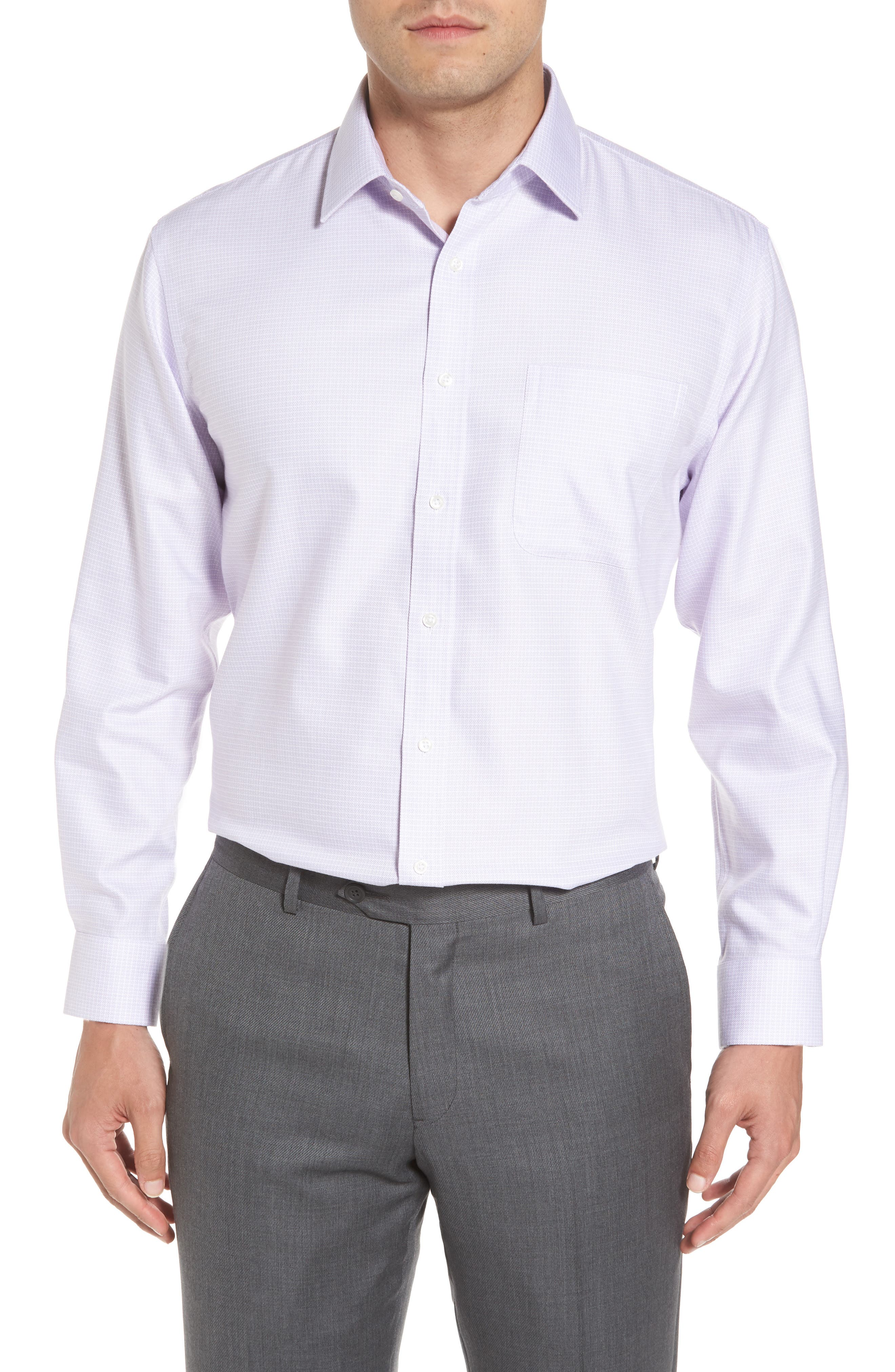 Smartcare<sup>™</sup> Traditional Fit Dress Shirt,                             Main thumbnail 1, color,                             530