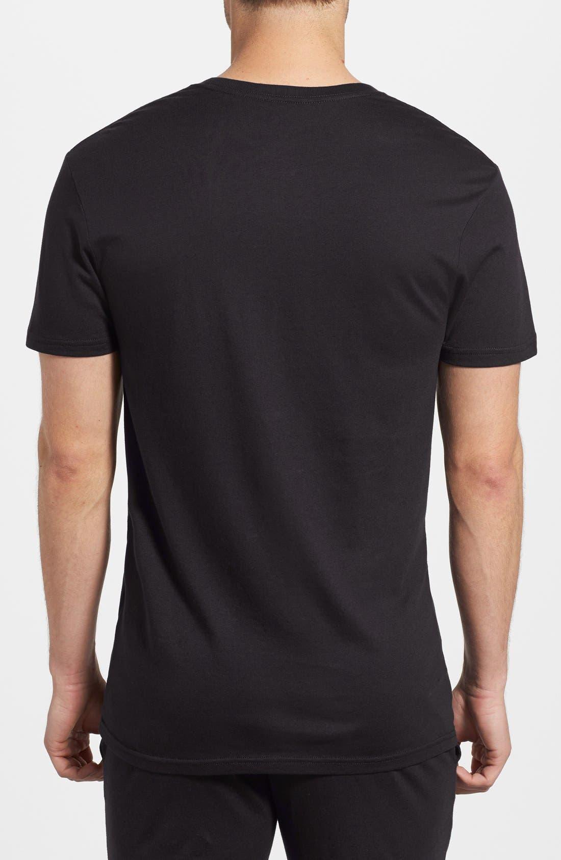 POLO RALPH LAUREN,                             Crewneck T-Shirt,                             Alternate thumbnail 2, color,                             POLO BLACK