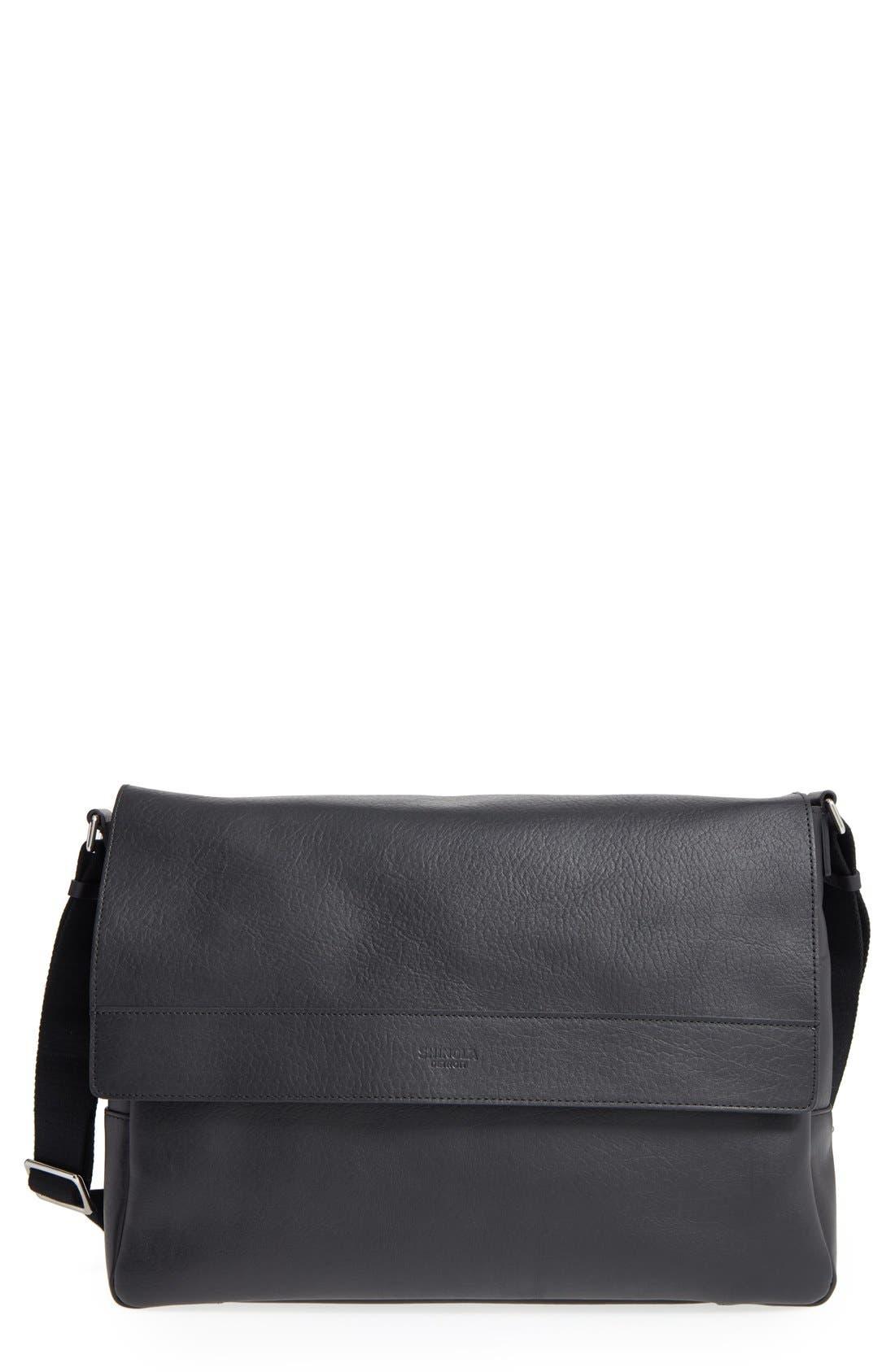 East/West Messenger Bag,                         Main,                         color, 001