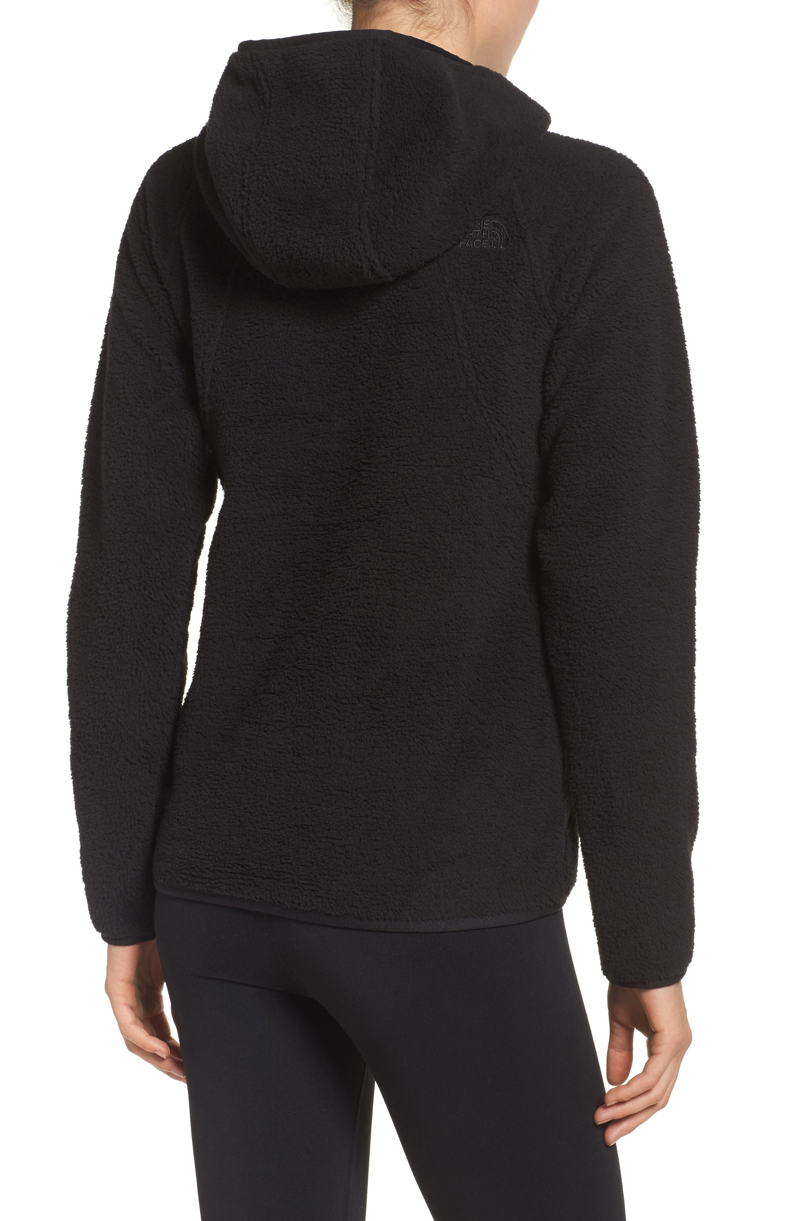 Hooded Fleece Pullover,                             Alternate thumbnail 2, color,                             001
