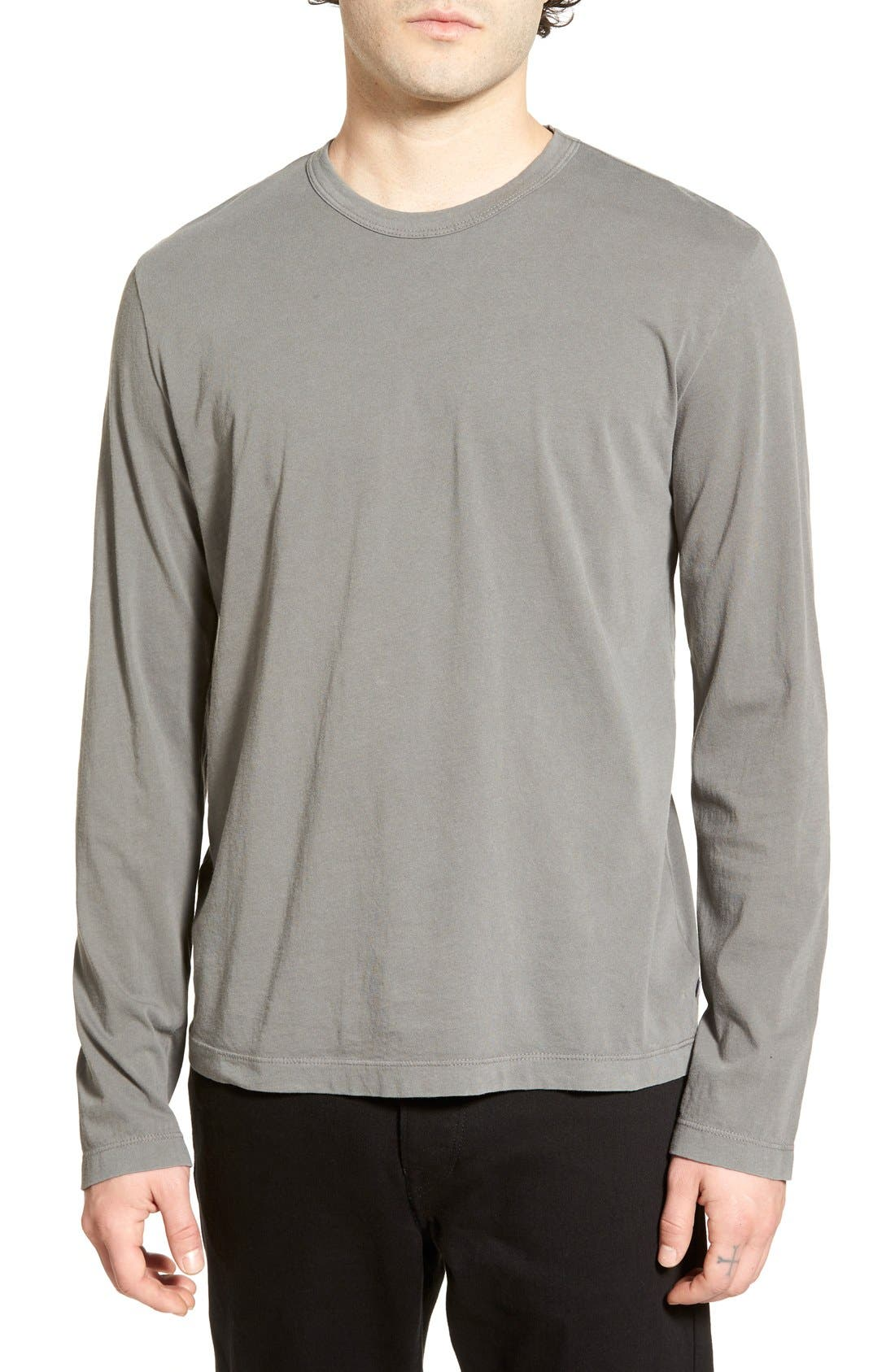 Long Sleeve Crewneck T-Shirt,                             Main thumbnail 19, color,