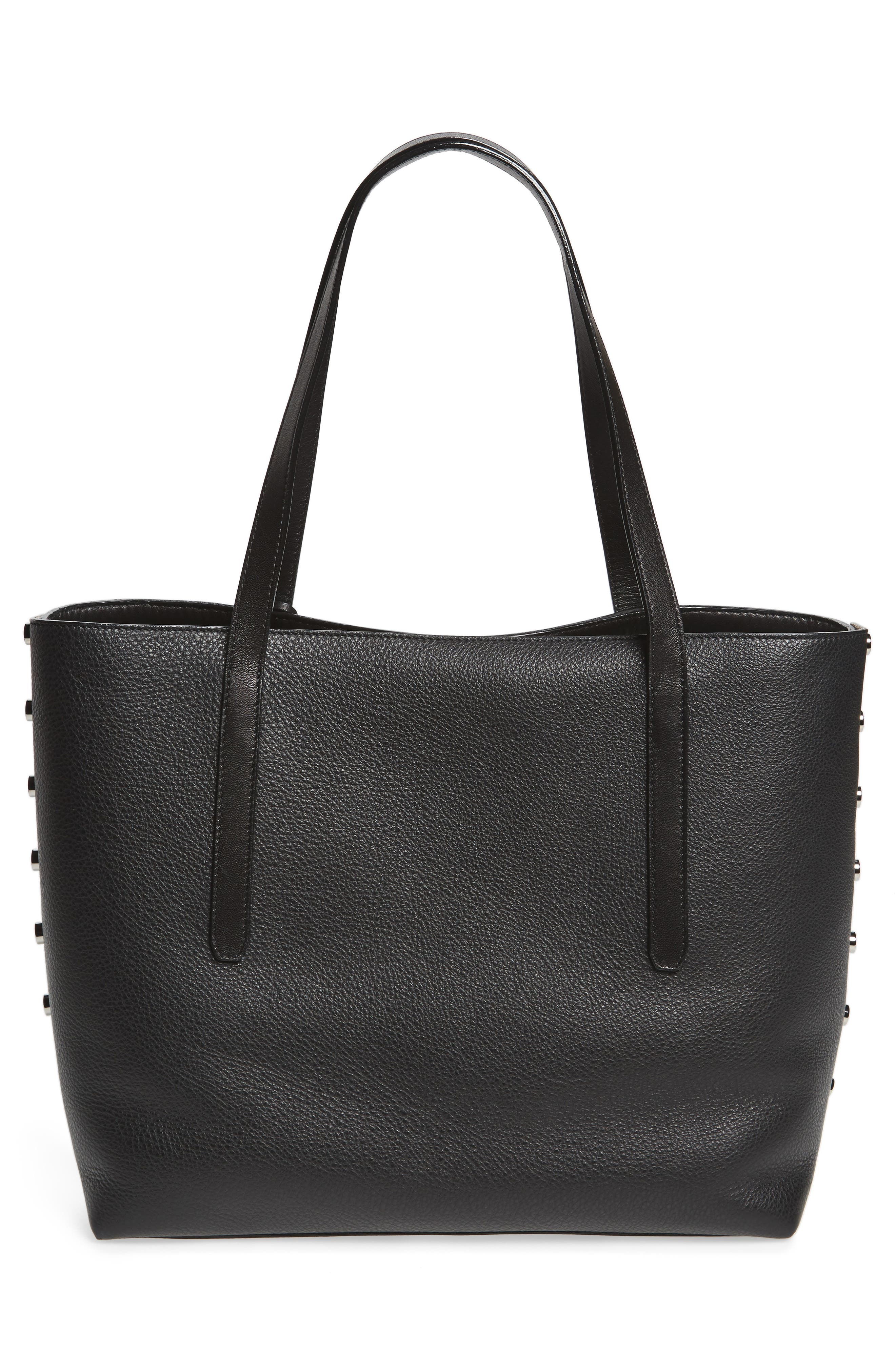 Twist East West Mesh Tote,                             Alternate thumbnail 3, color,                             001
