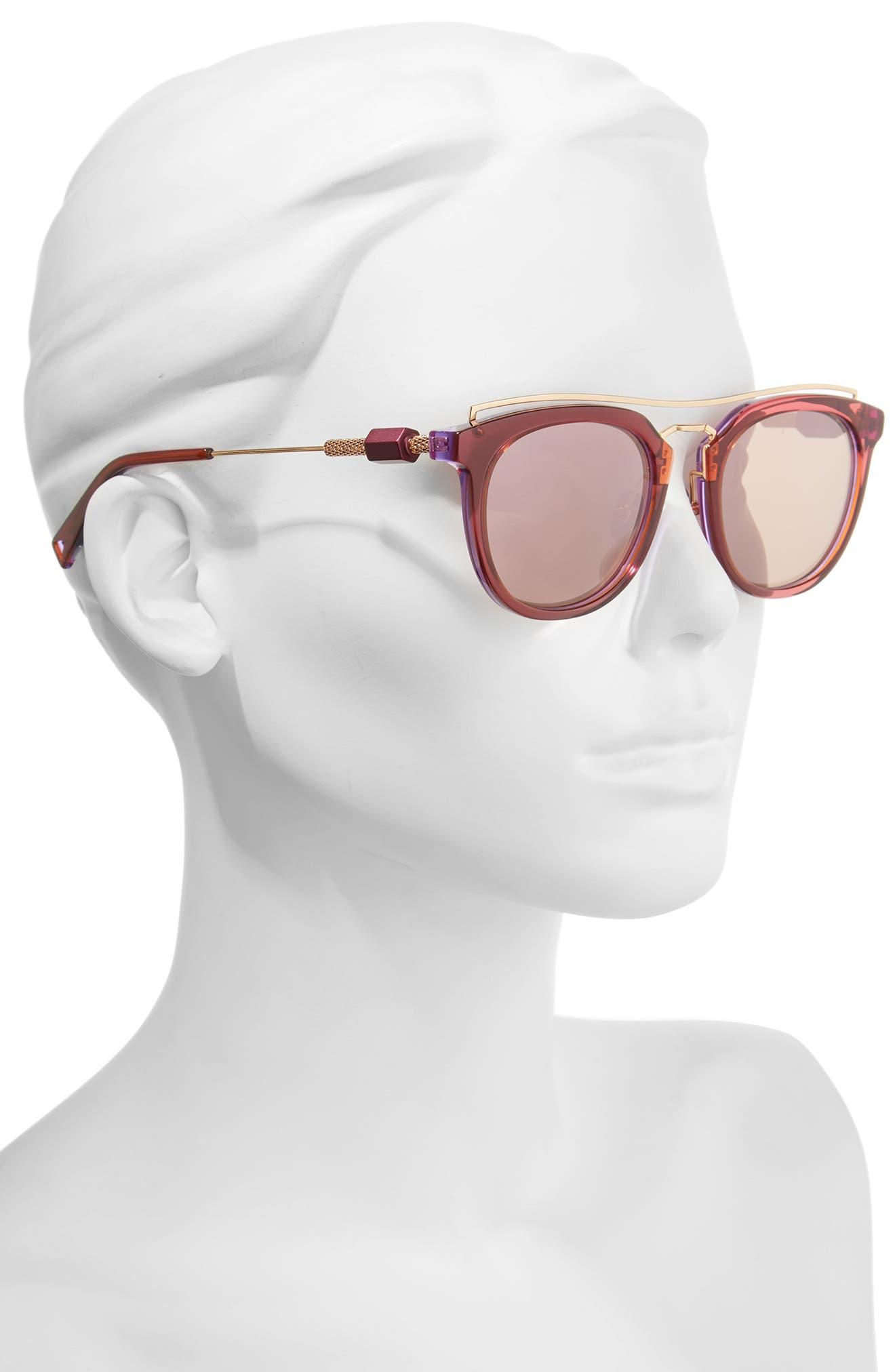 Zeal 52mm Aviator Sunglasses,                             Alternate thumbnail 11, color,