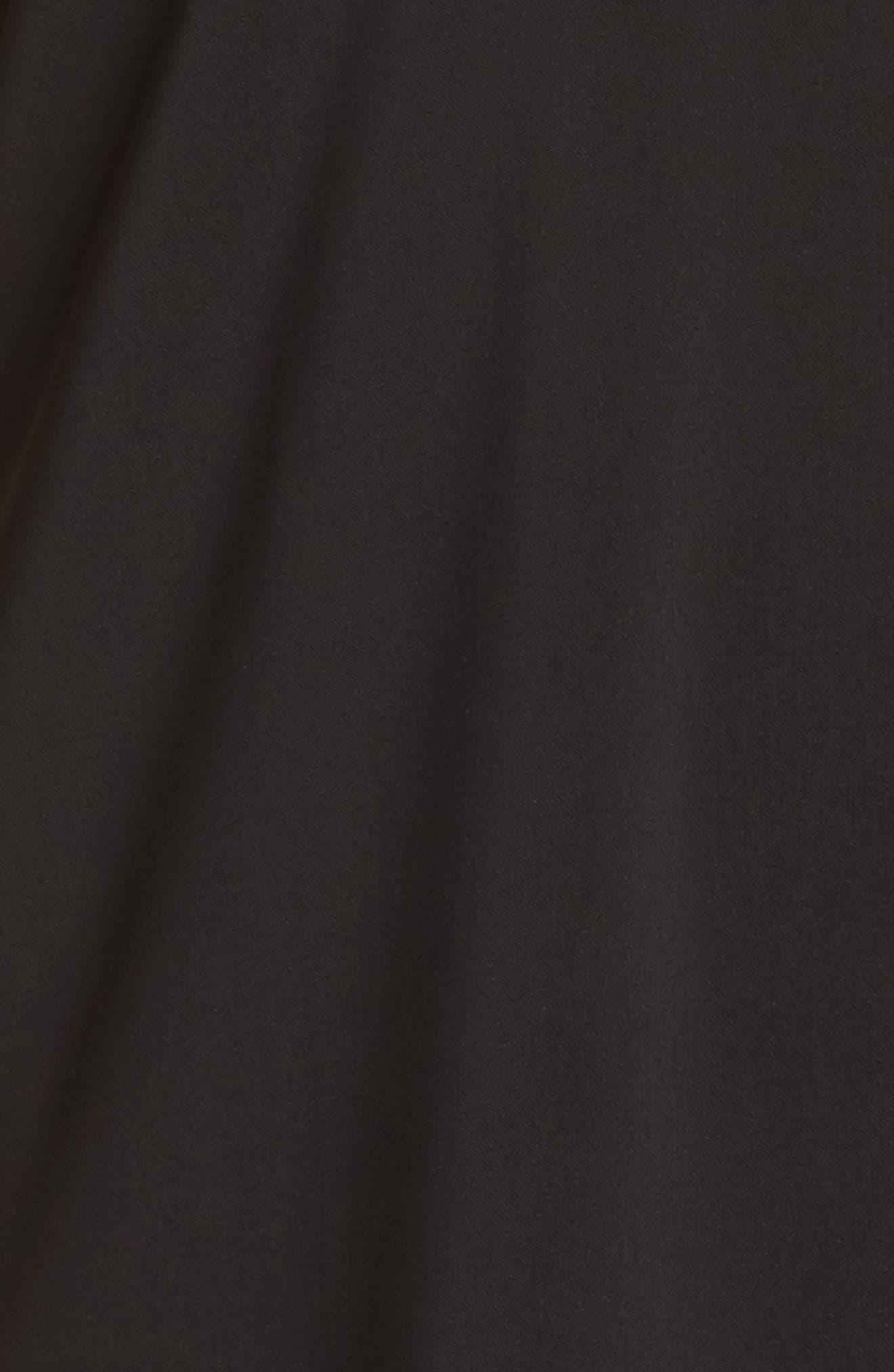 Donna Sleeveless Maxi Dress,                             Alternate thumbnail 5, color,                             001