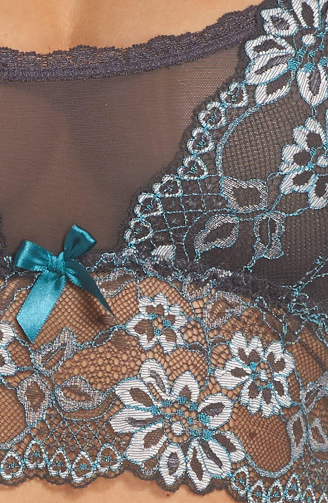 La Fee Bralette,                             Alternate thumbnail 5, color,                             033
