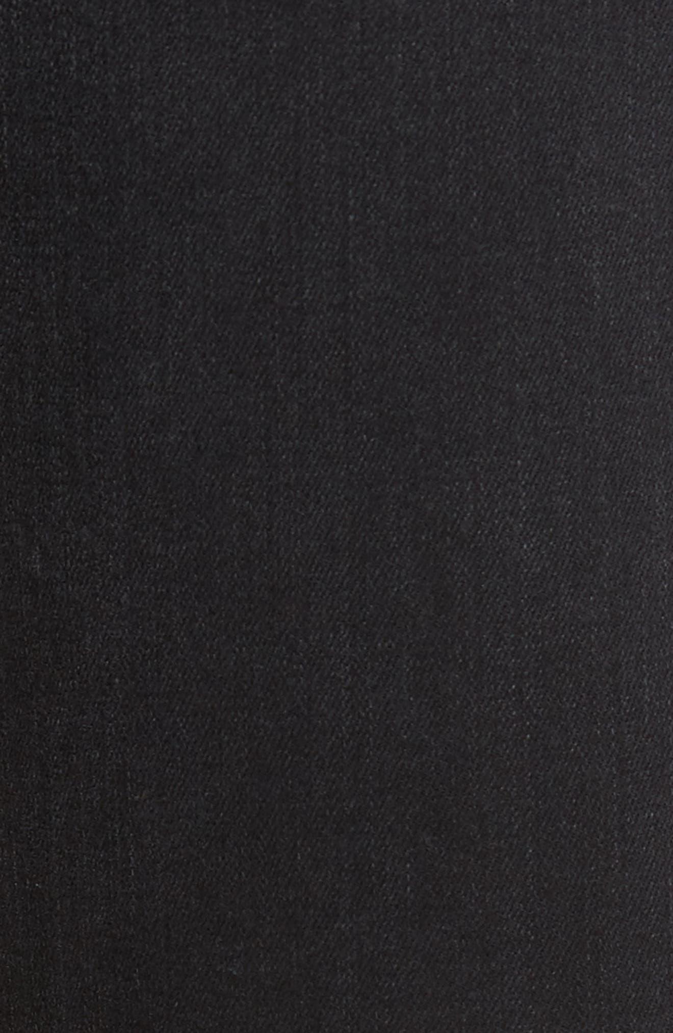 Slim Fit Jeans,                             Alternate thumbnail 5, color,                             001