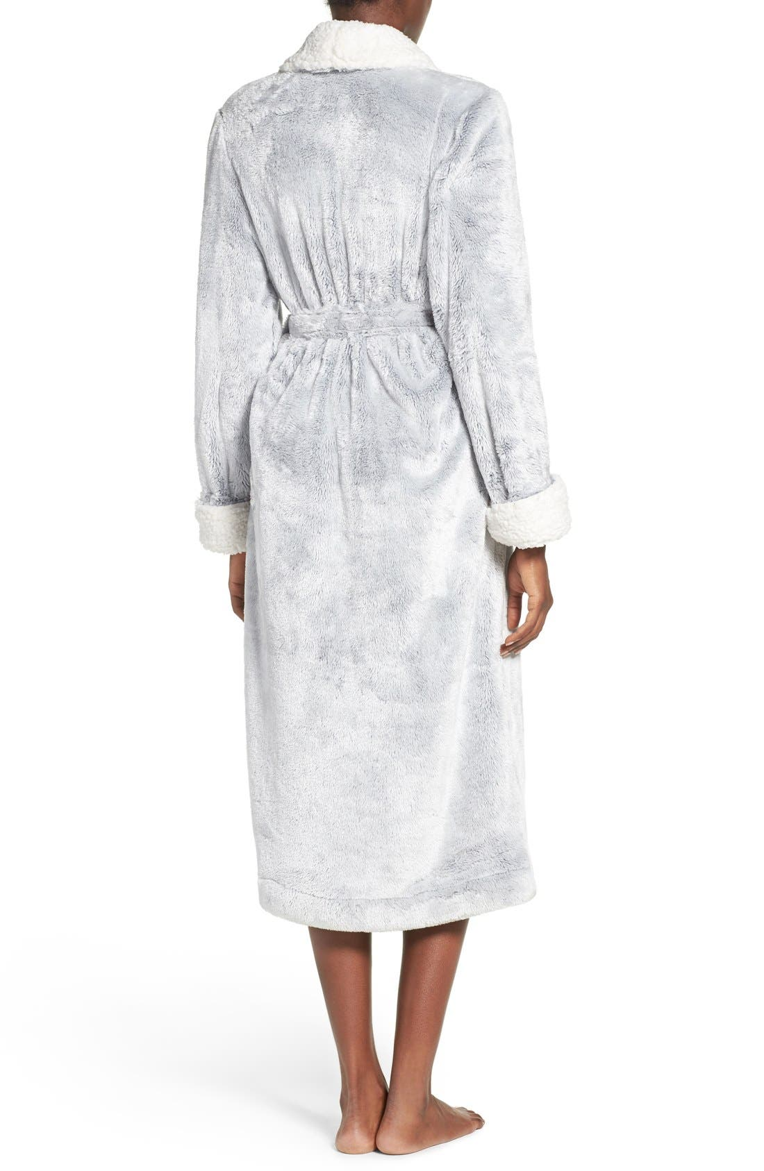 Frosted Plush Robe,                             Alternate thumbnail 10, color,