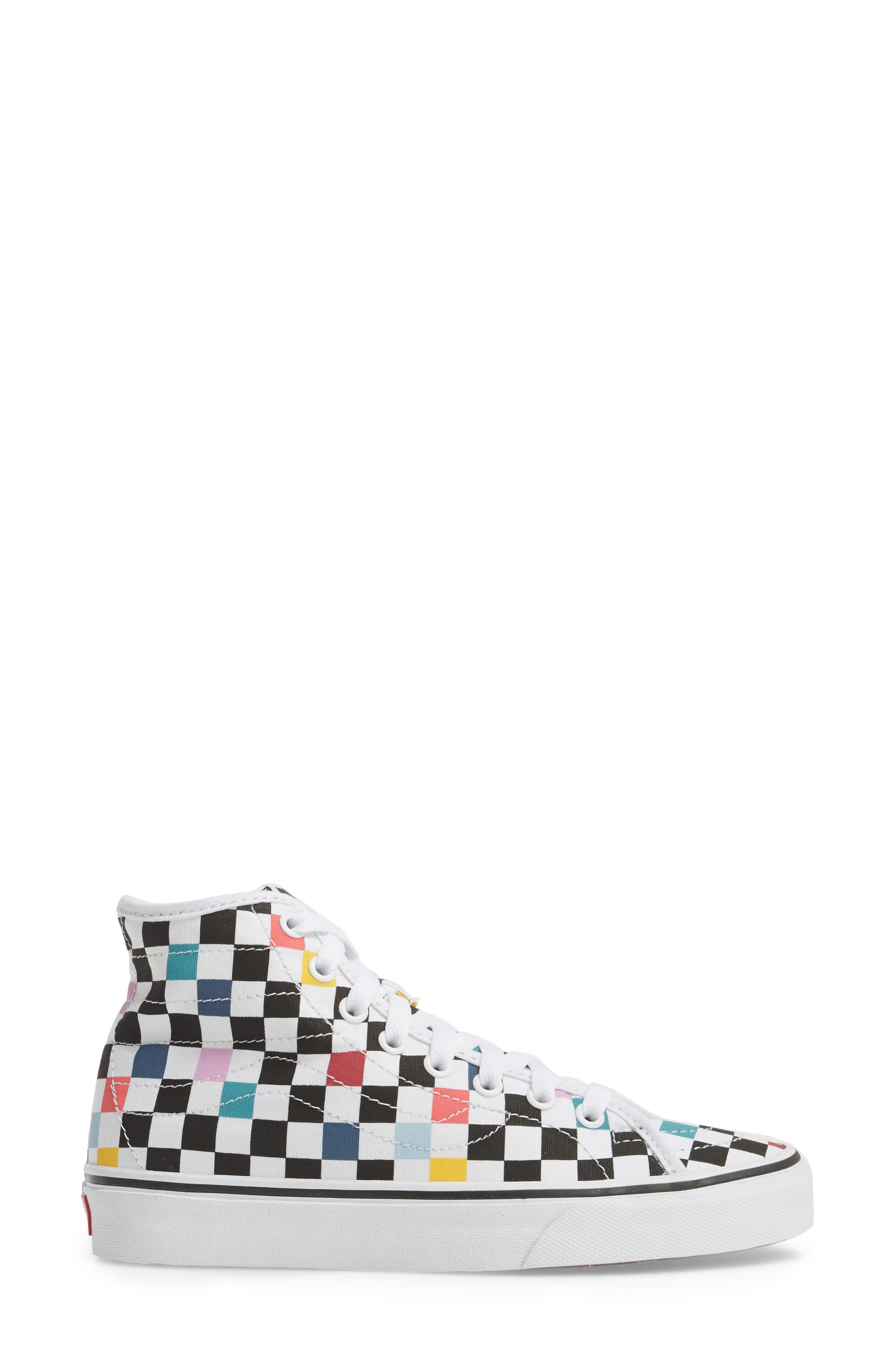 'Sk8-Hi Decon' Sneaker,                             Alternate thumbnail 3, color,                             101