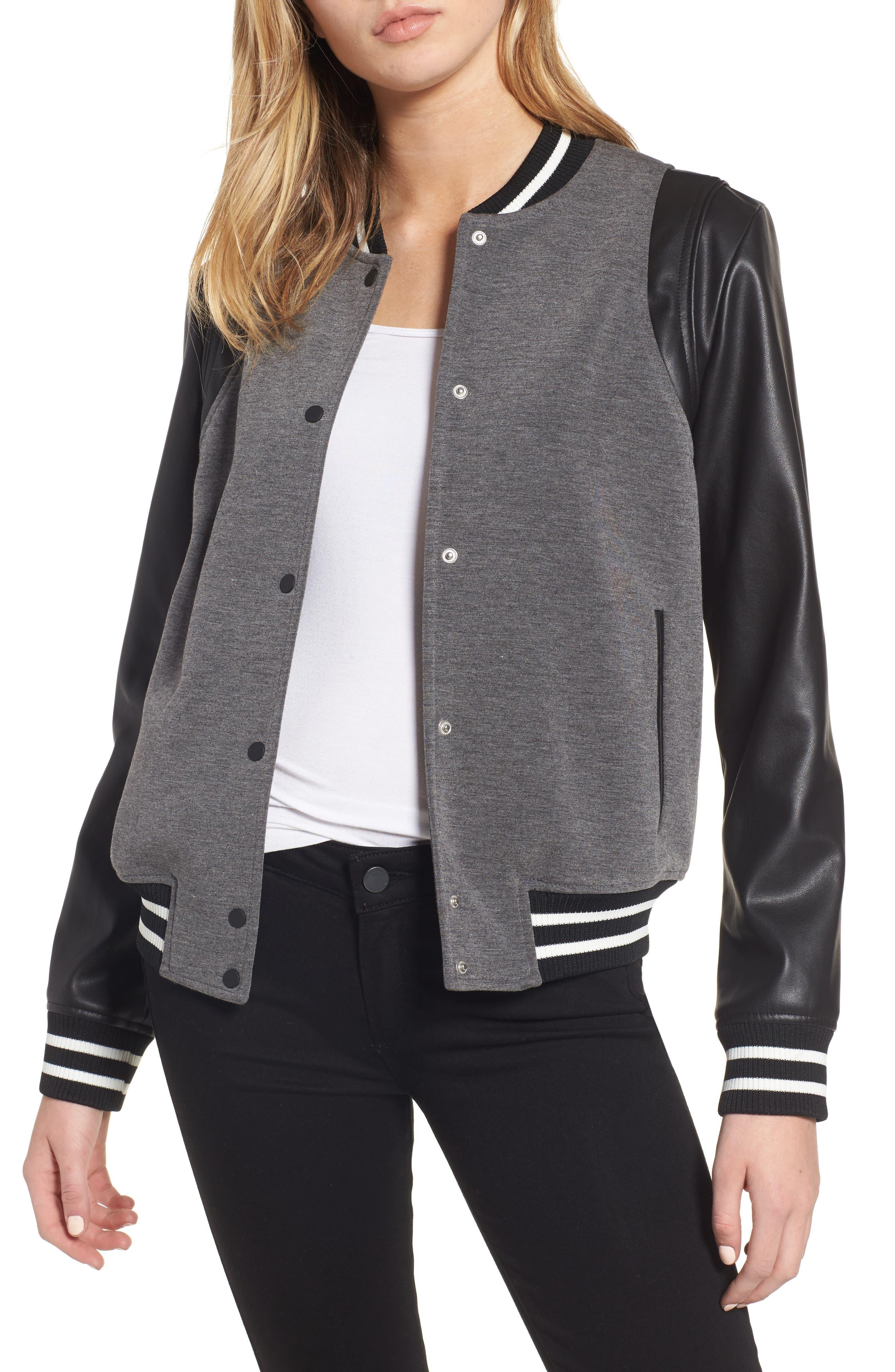 Varsity Jacket,                             Main thumbnail 1, color,                             030