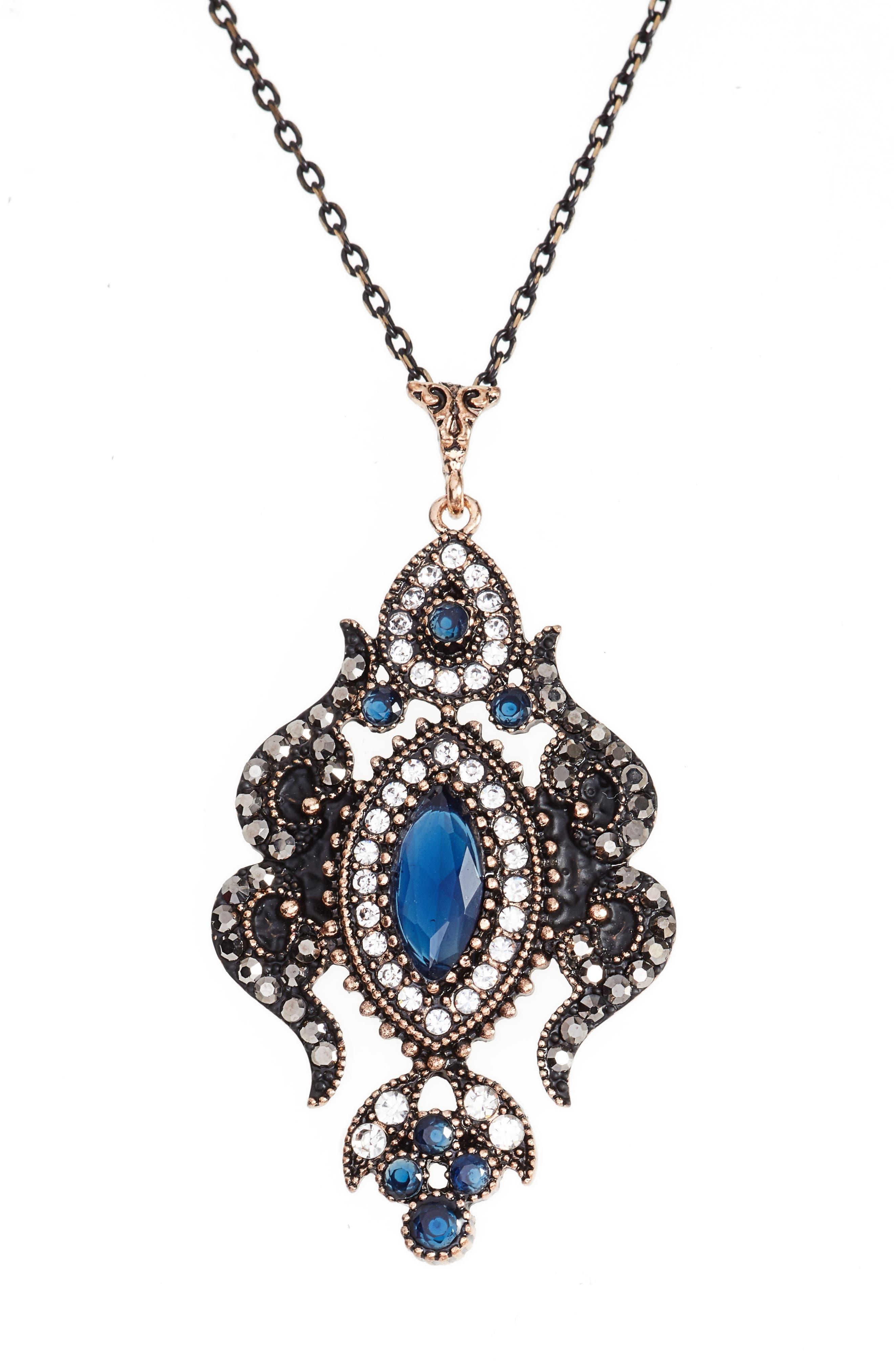 Sareh Nouri Kiana Jewel Pendant Necklace,                             Alternate thumbnail 3, color,