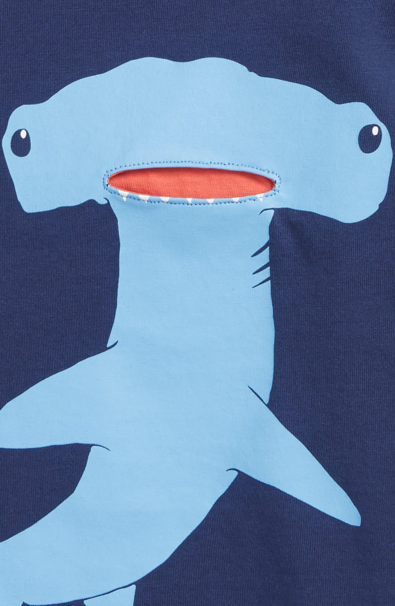 Sea Animal Pocket T-Shirt,                             Alternate thumbnail 2, color,                             414