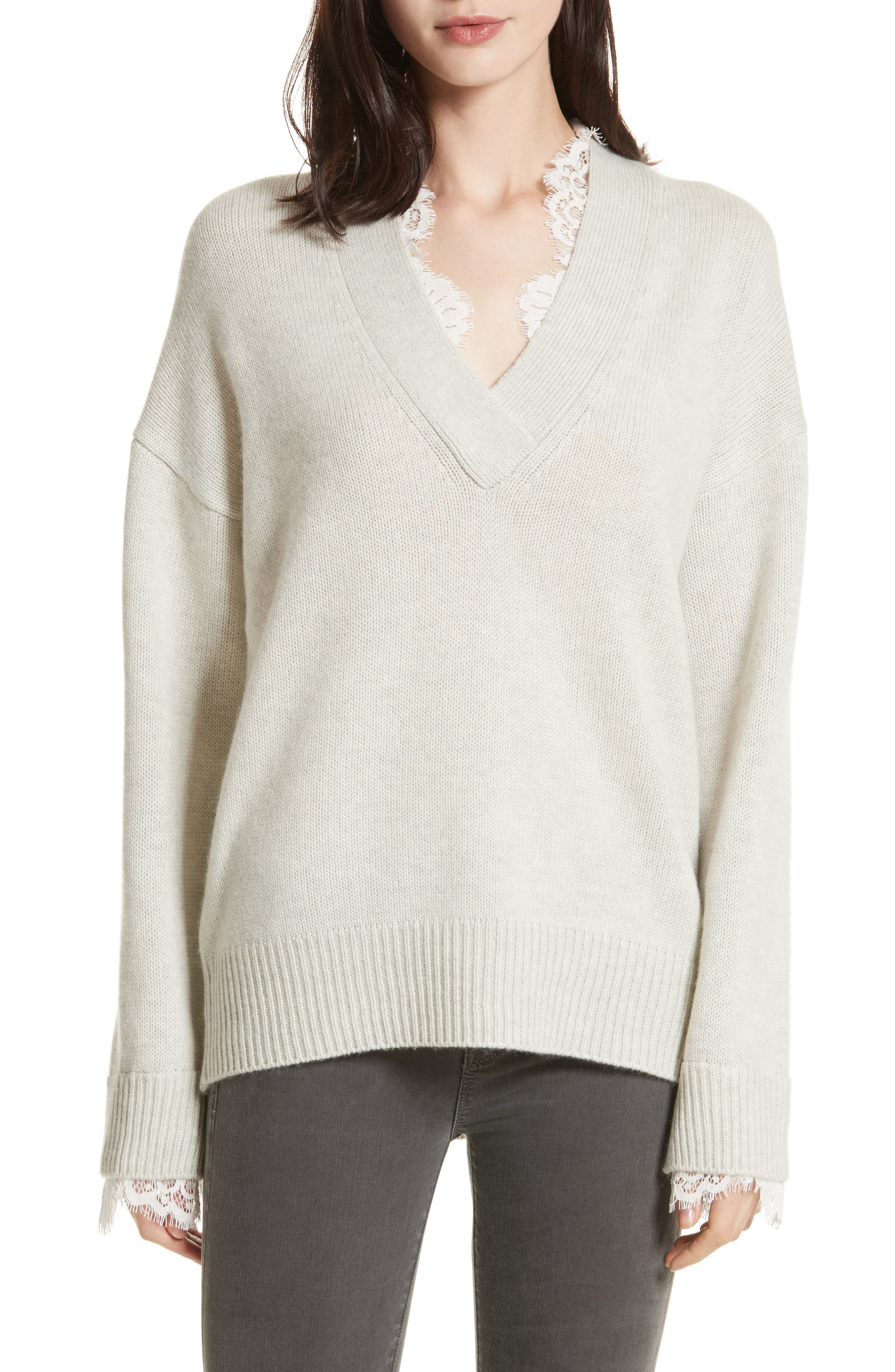 Kali Lace Looker Sweater,                         Main,                         color, 250