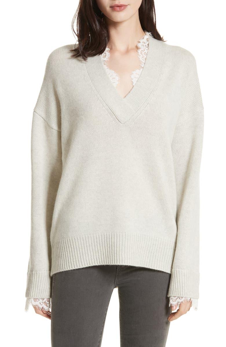 Brochu Walker Kali Lace Looker Sweater  50b0740a3