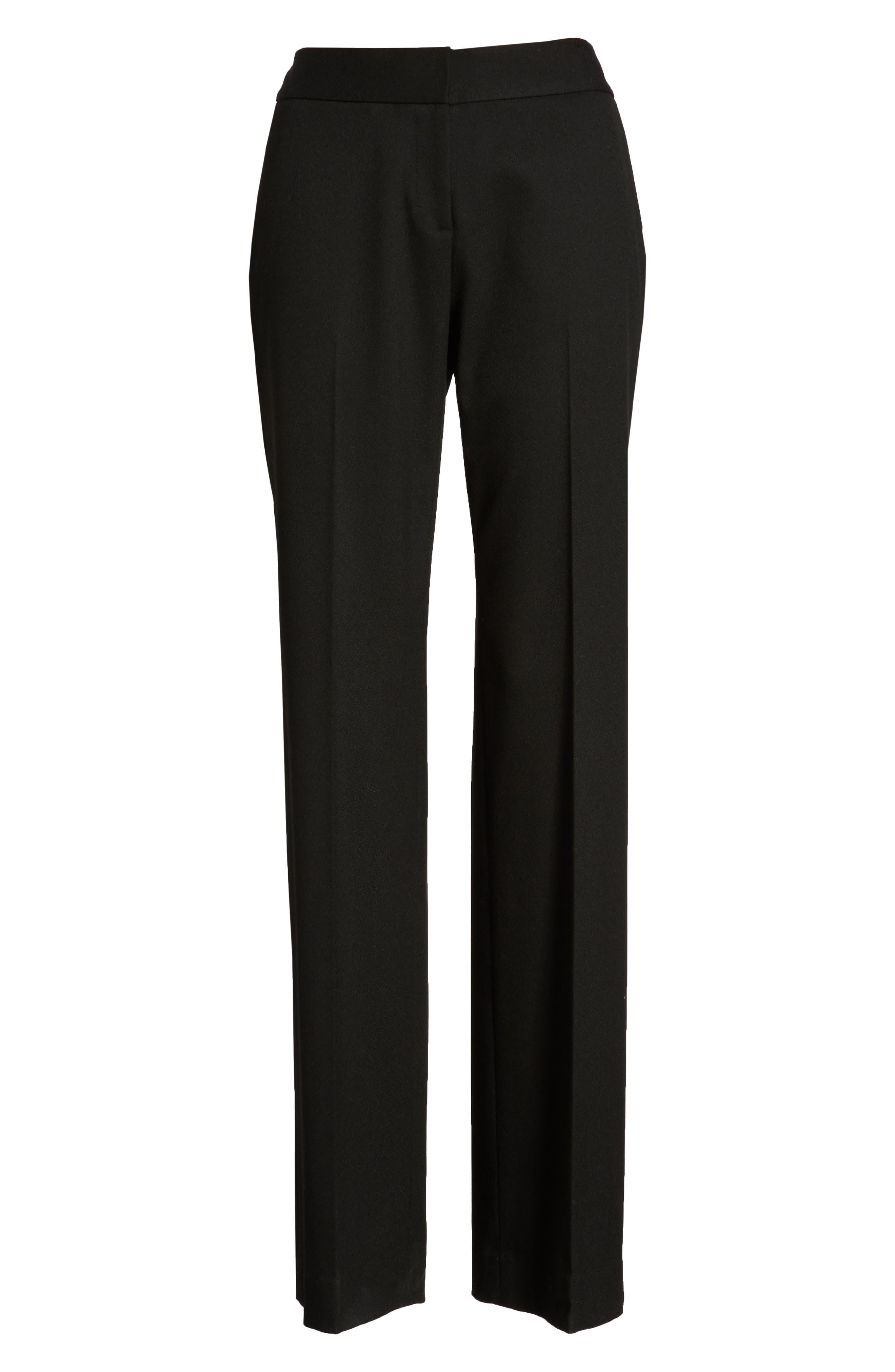 Classic Suit Pants,                             Alternate thumbnail 6, color,                             001