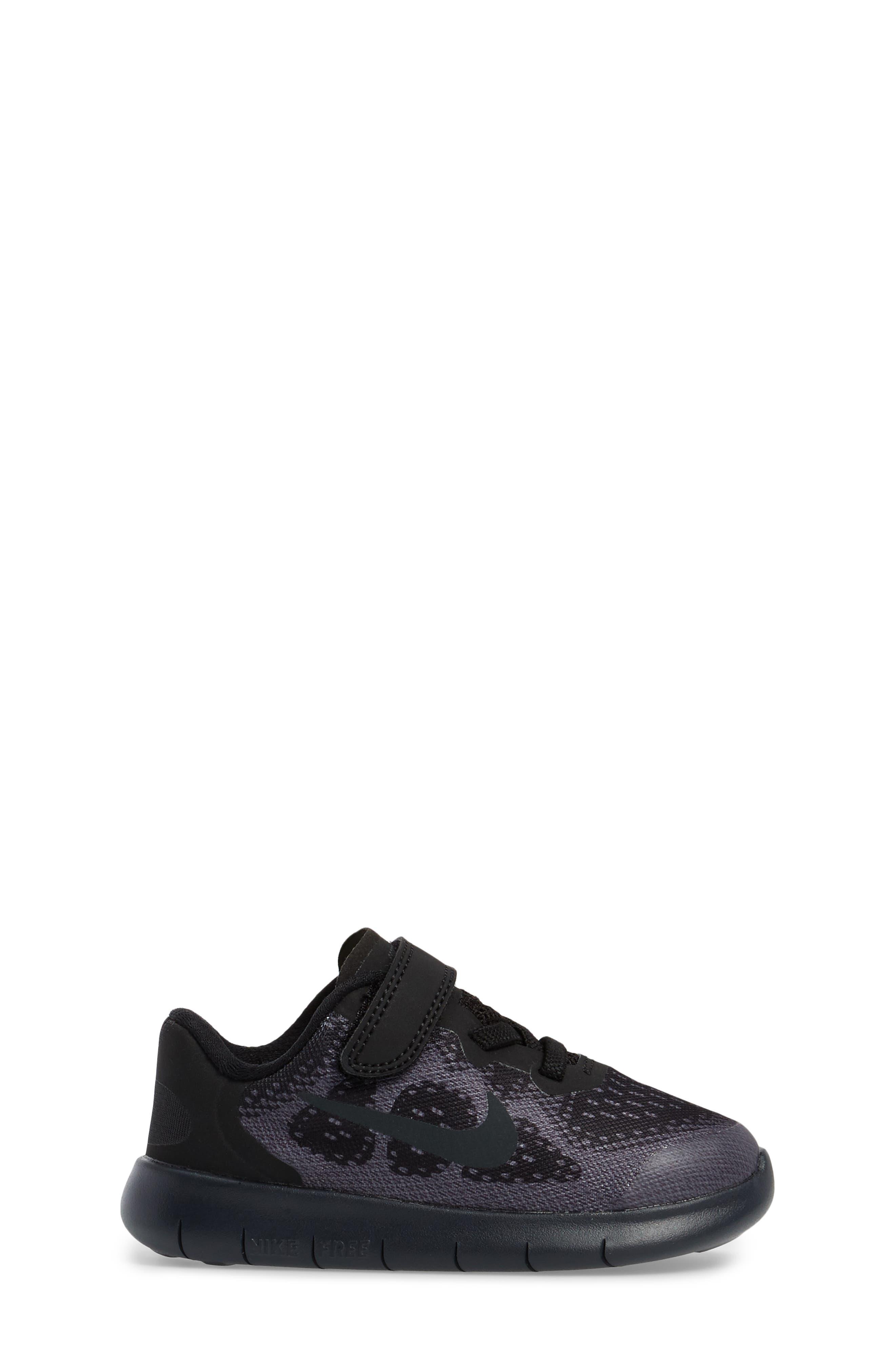 Free RN 2017 Sneaker,                             Alternate thumbnail 3, color,                             001