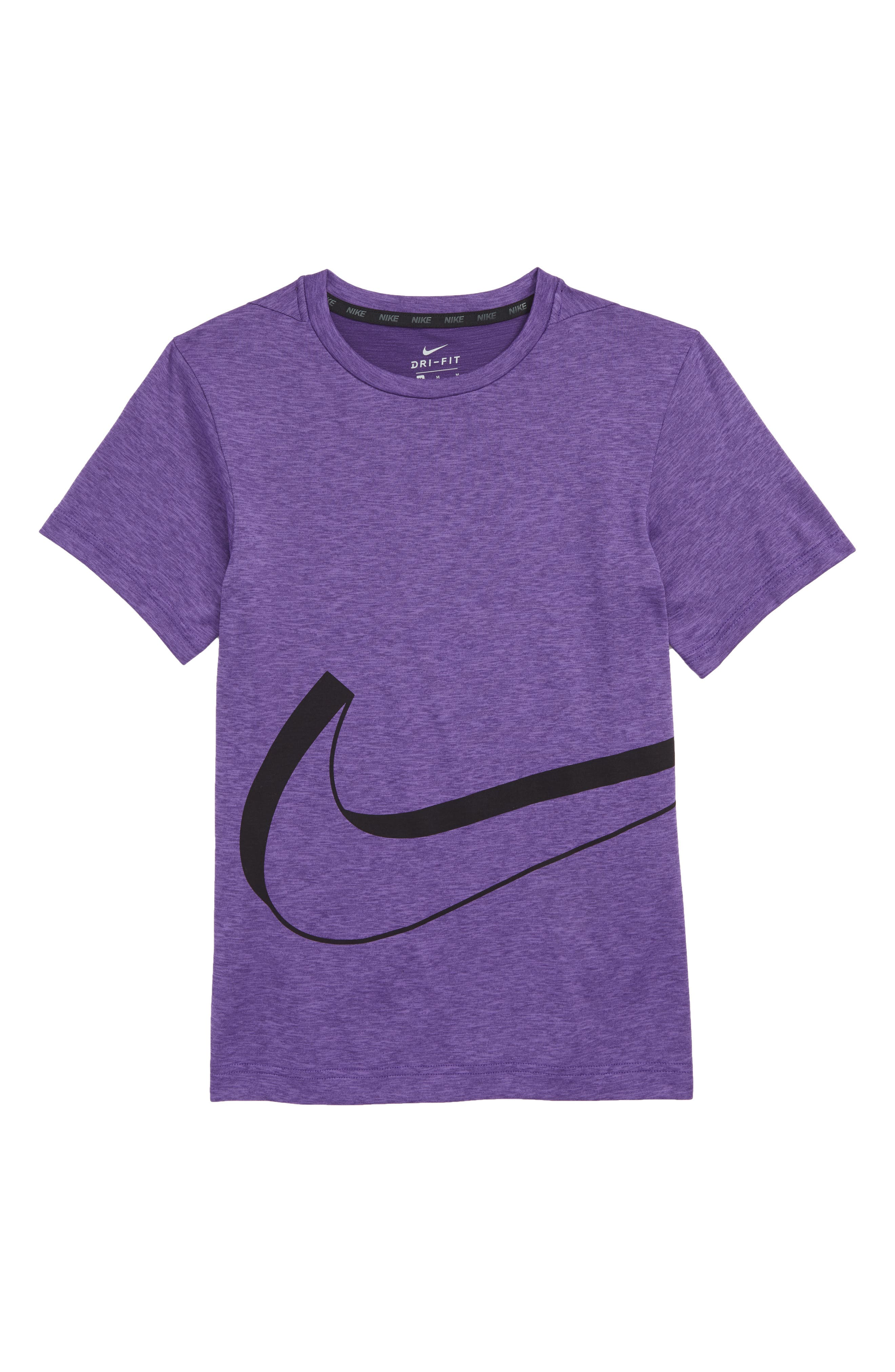 Dry Graphic T-Shirt, Main, color, COURT PURPLE/ ACTION GRAPE