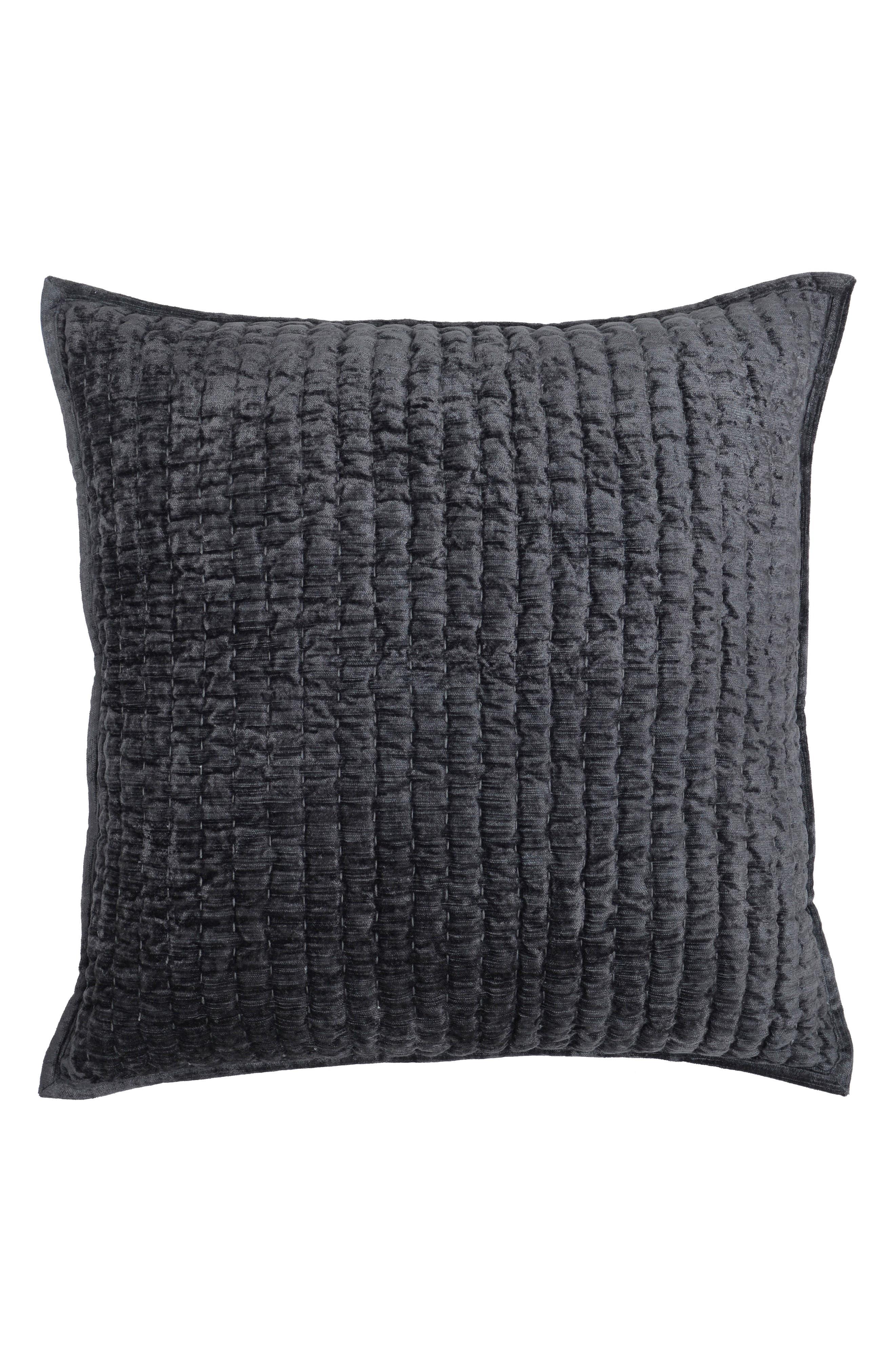 Maison Accent Pillow,                             Main thumbnail 1, color,                             CHARCOAL