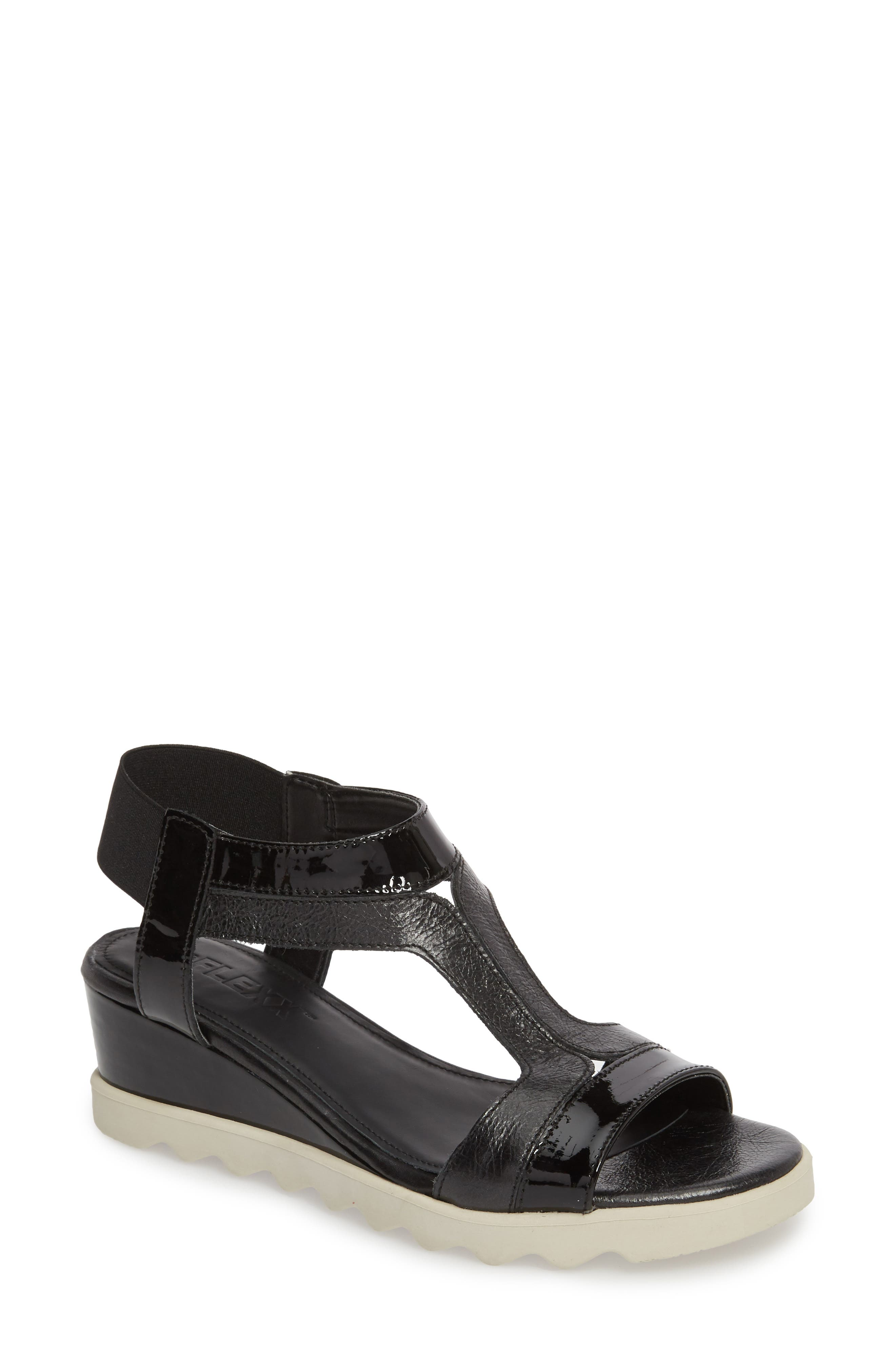 Give A Hoot Wedge Sandal,                         Main,                         color, 009