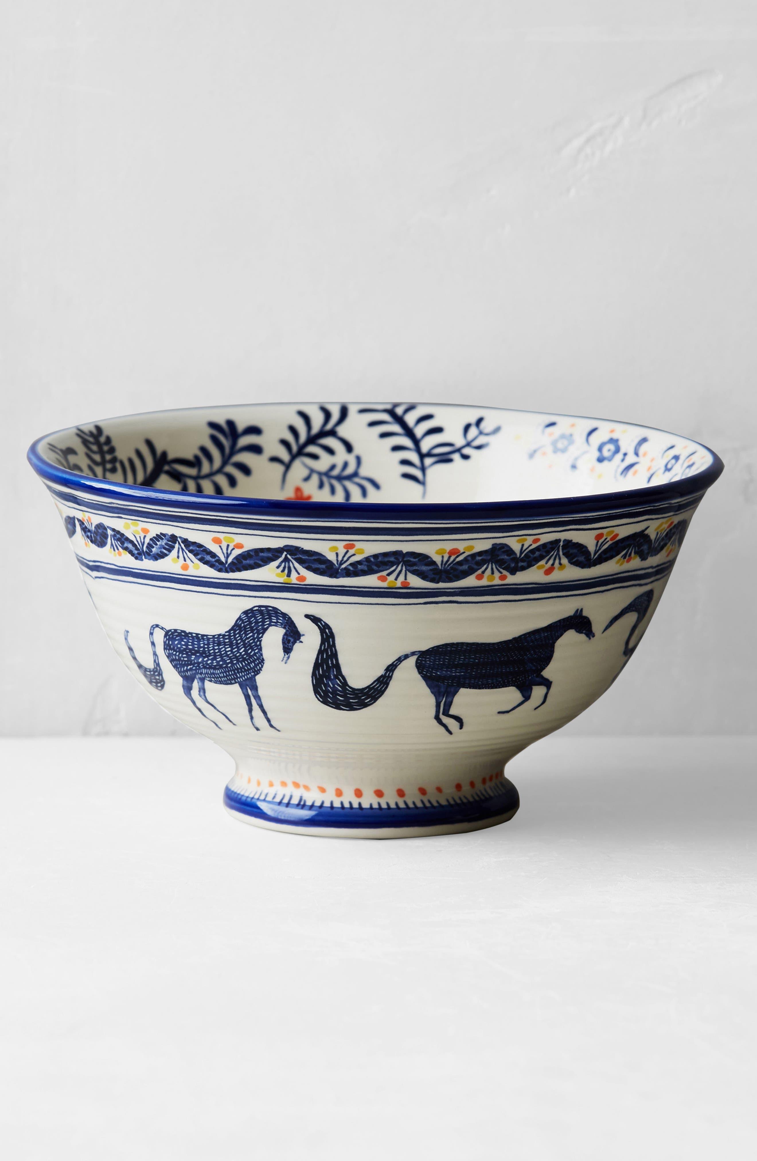 Saga Ceramic Cereal Bowl,                             Alternate thumbnail 4, color,                             400