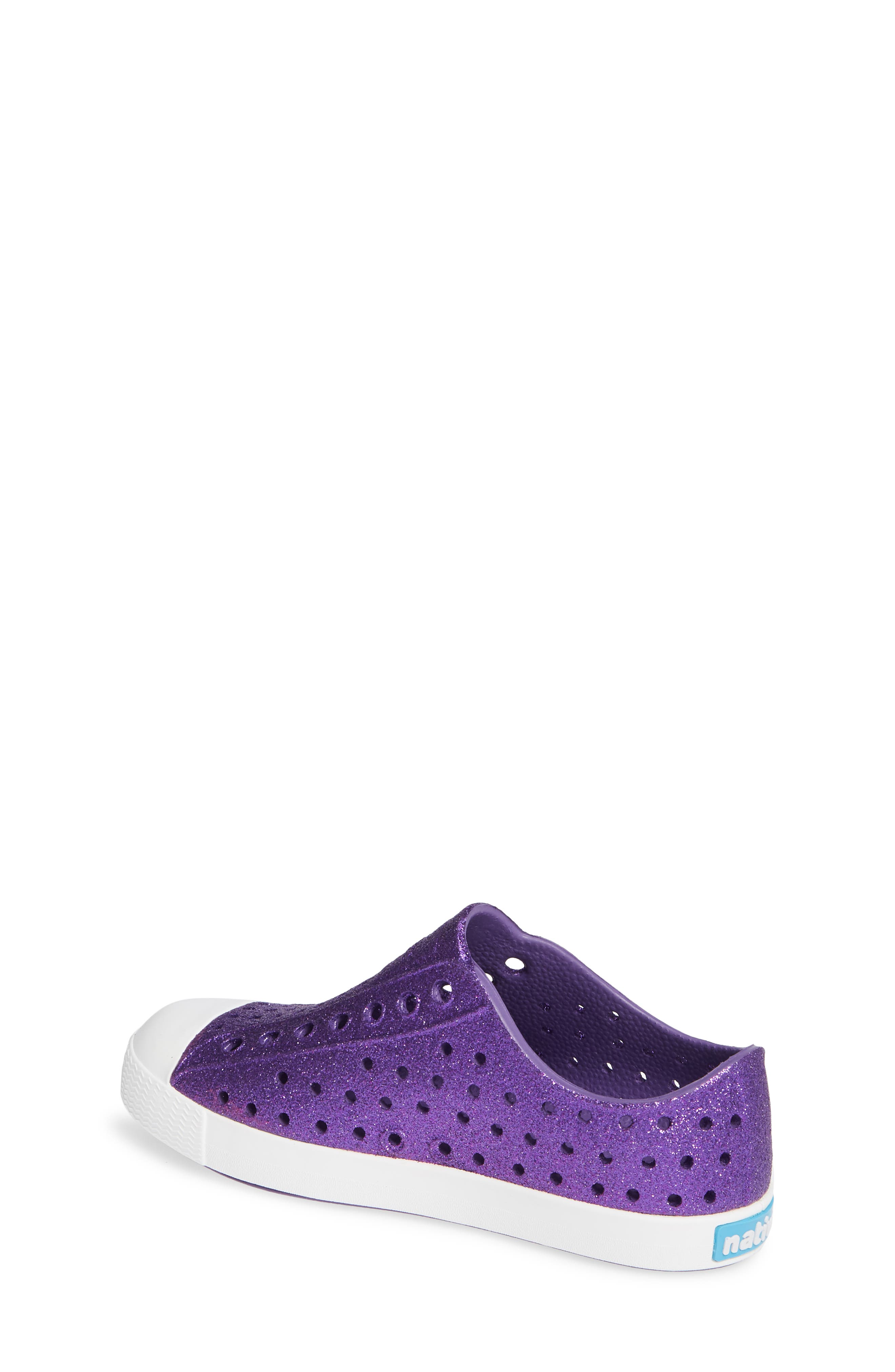 Jefferson - Bling Glitter Slip-On Sneaker,                             Alternate thumbnail 2, color,                             STARFISH BLING/ SHELL WHITE