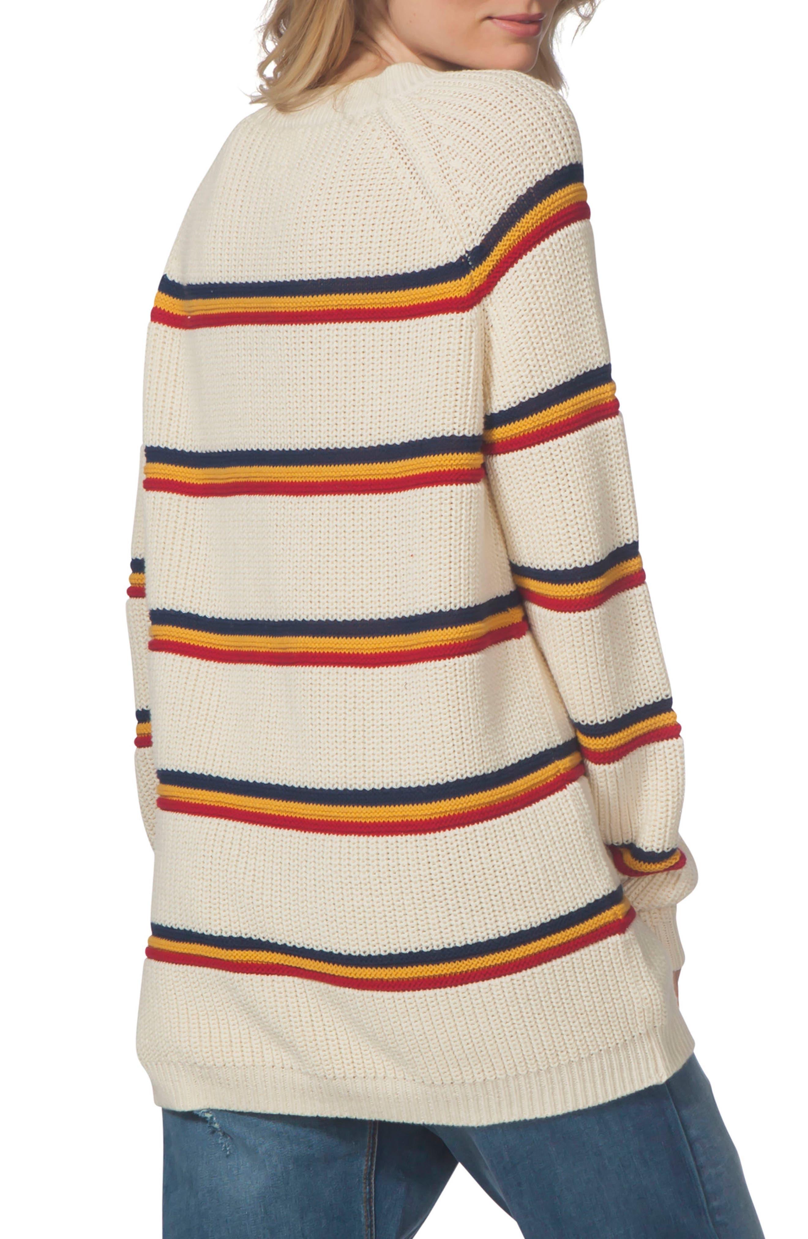 Raine Stripe Sweater,                             Alternate thumbnail 2, color,                             111