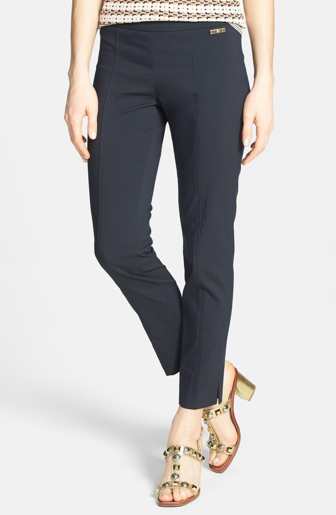 'Callie' Seamed Crop Pants,                         Main,                         color,
