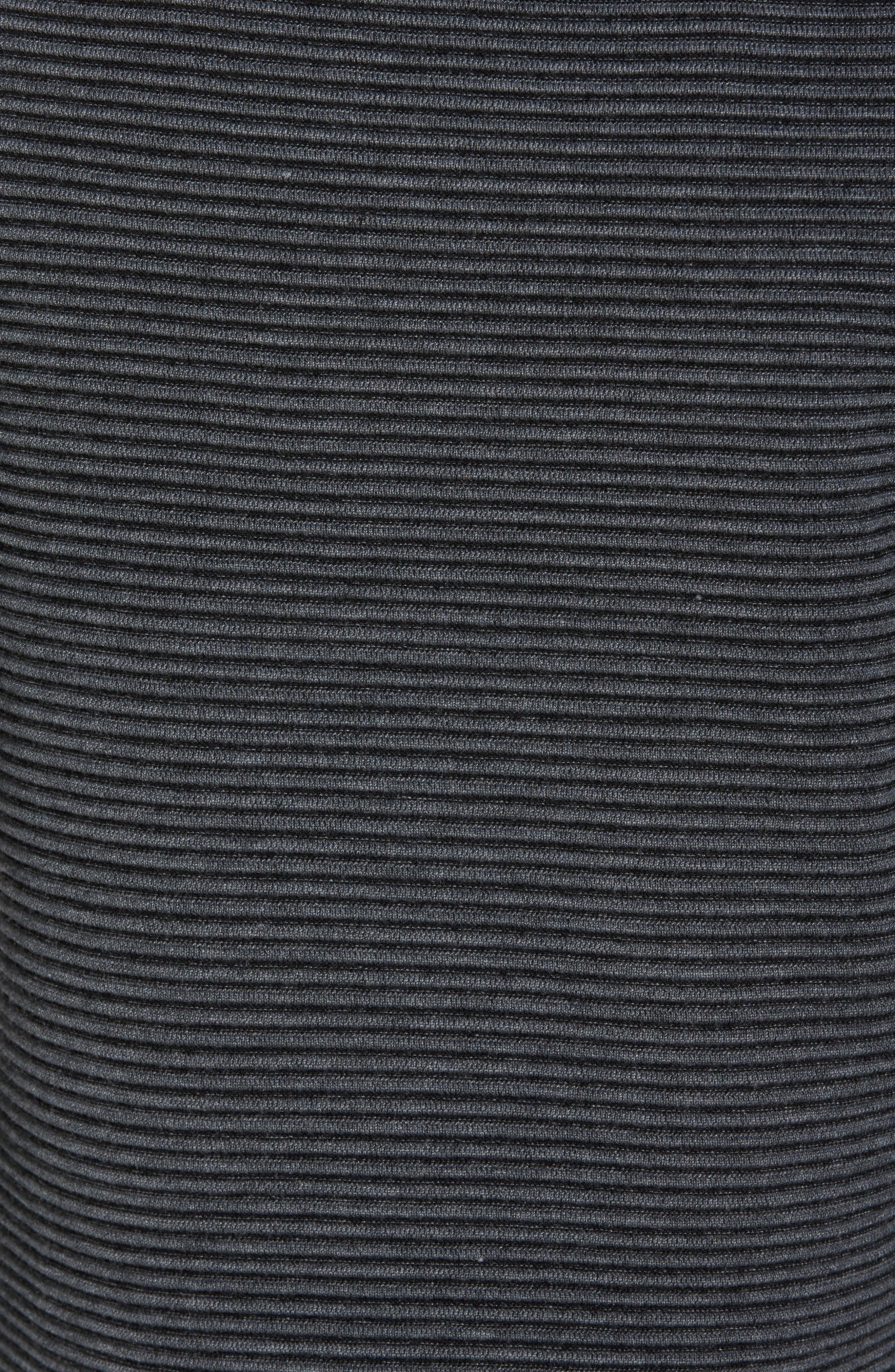 Cashoo Slim Fit Ribbed Sweatshirt,                             Alternate thumbnail 5, color,                             030