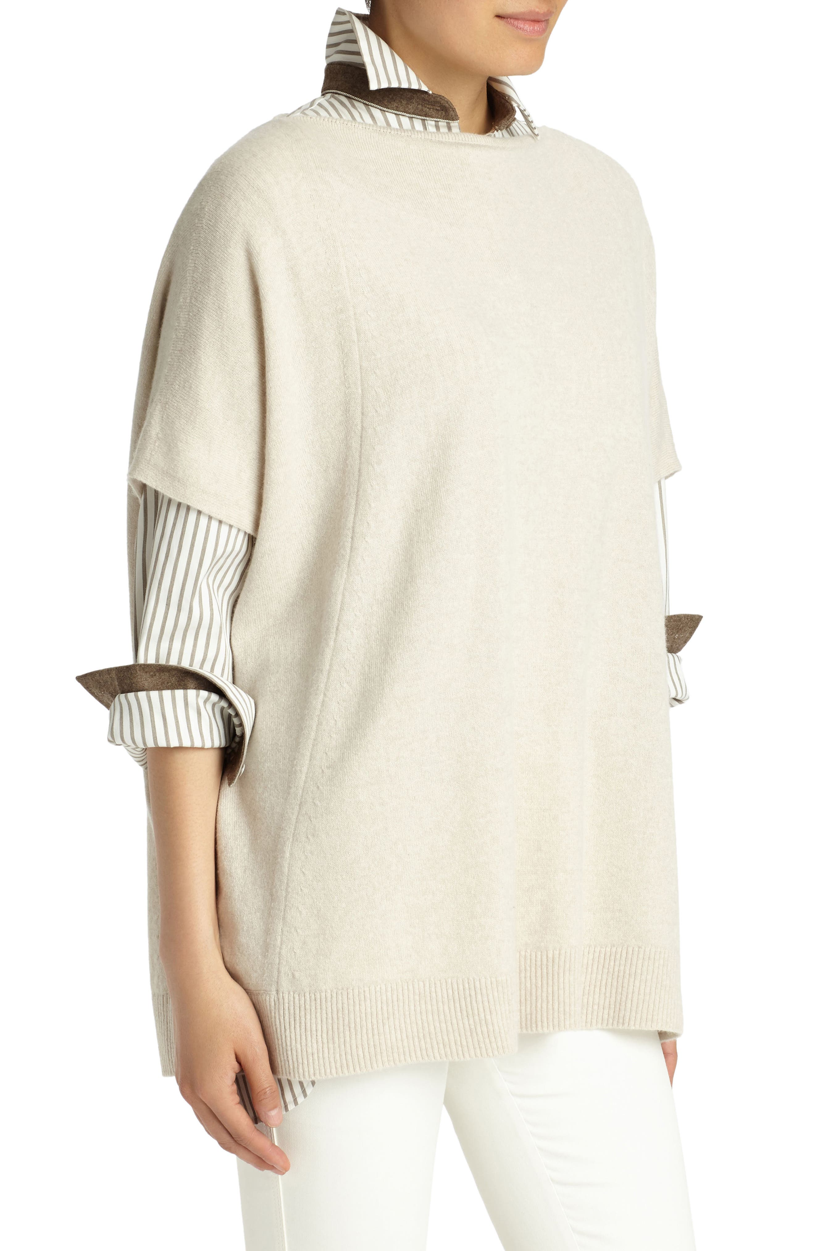 Cashmere Sweater,                             Alternate thumbnail 3, color,                             254