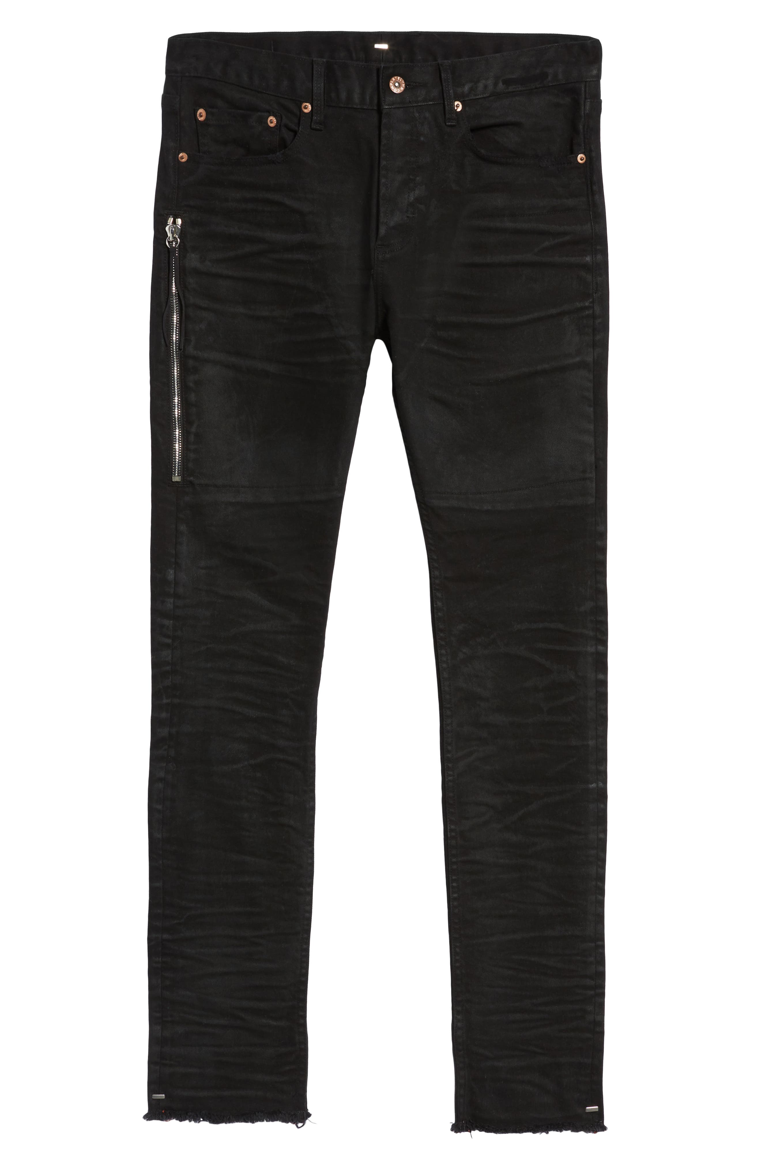 Trafford Skinny Fit Jeans,                             Alternate thumbnail 6, color,                             HERITAGE WAX