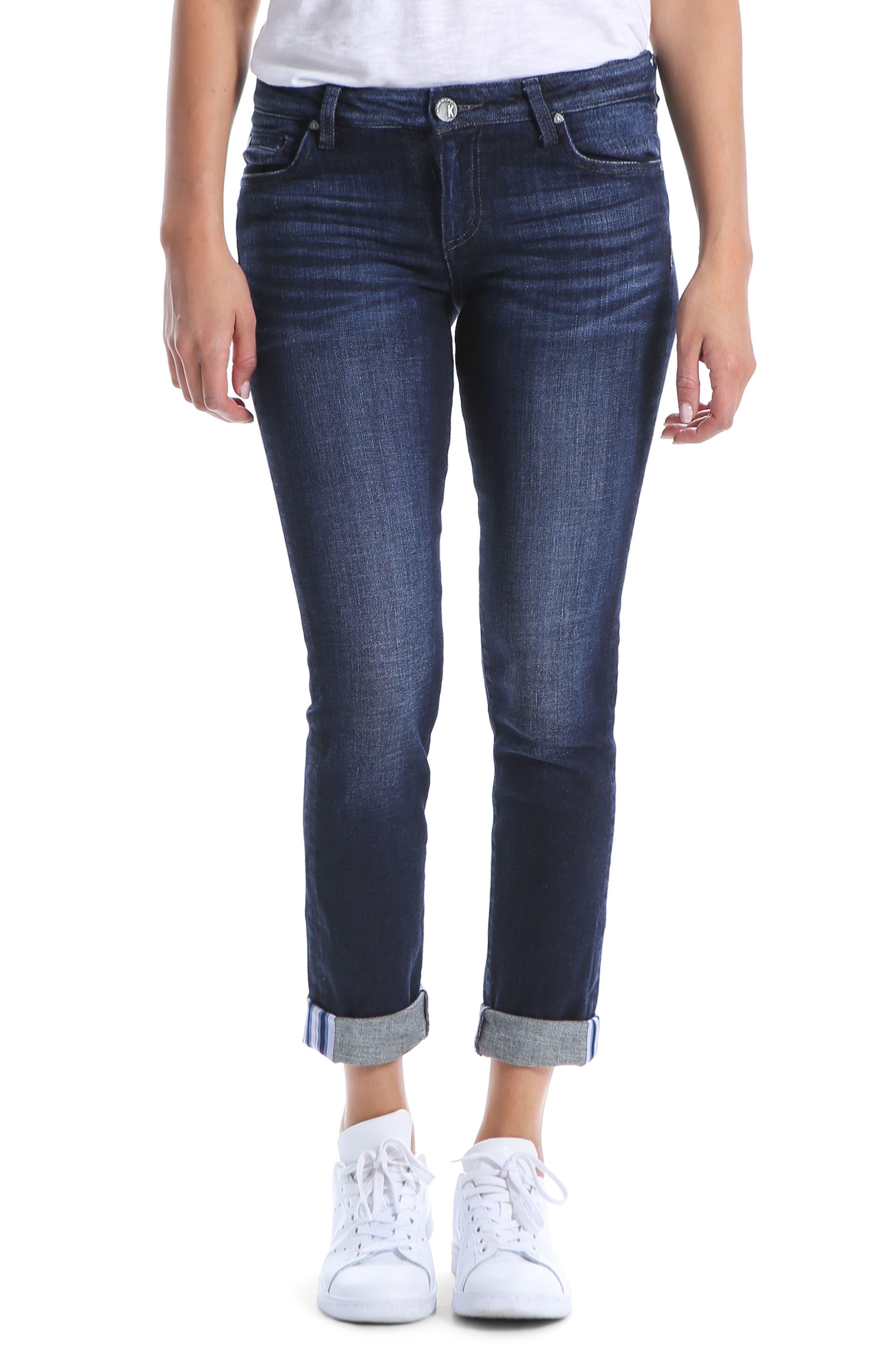 Catherine Slim Boyfriend Jeans, Main, color, 477