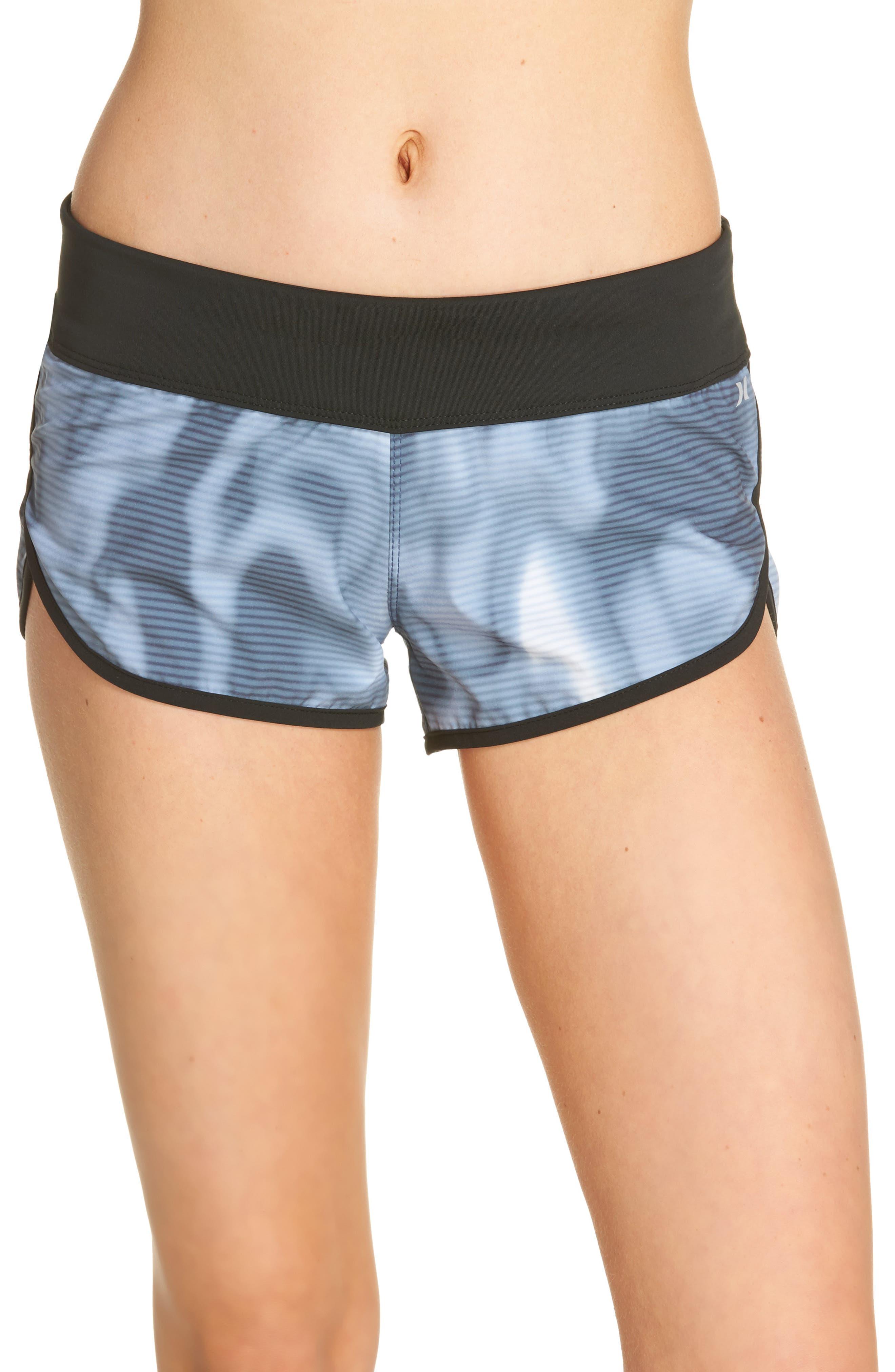 Phantom Waves Beachrider Shorts,                             Main thumbnail 1, color,                             401