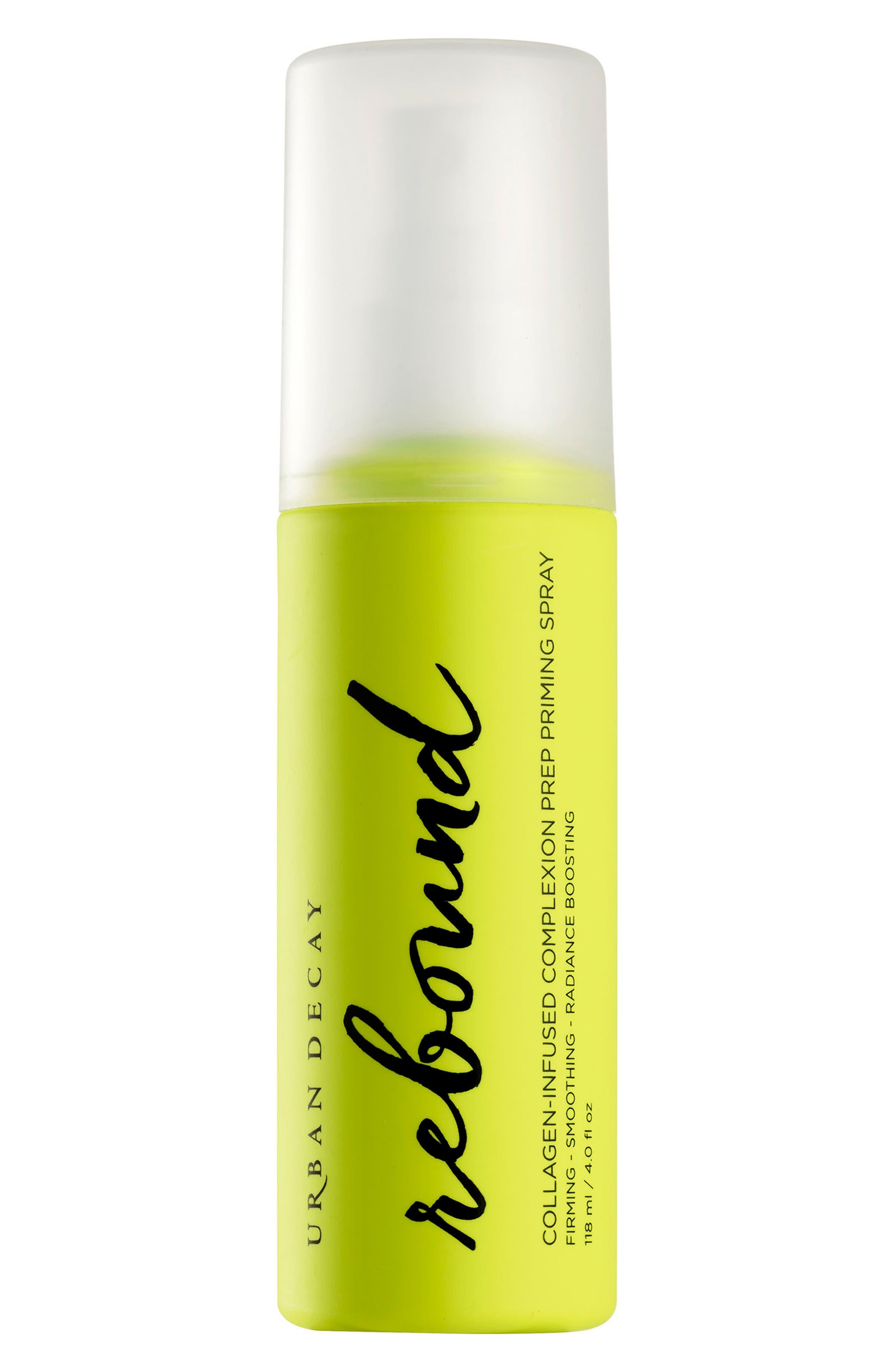 Rebound Collagen-Infused Complexion Prep Priming Spray,                             Main thumbnail 1, color,                             NO COLOR