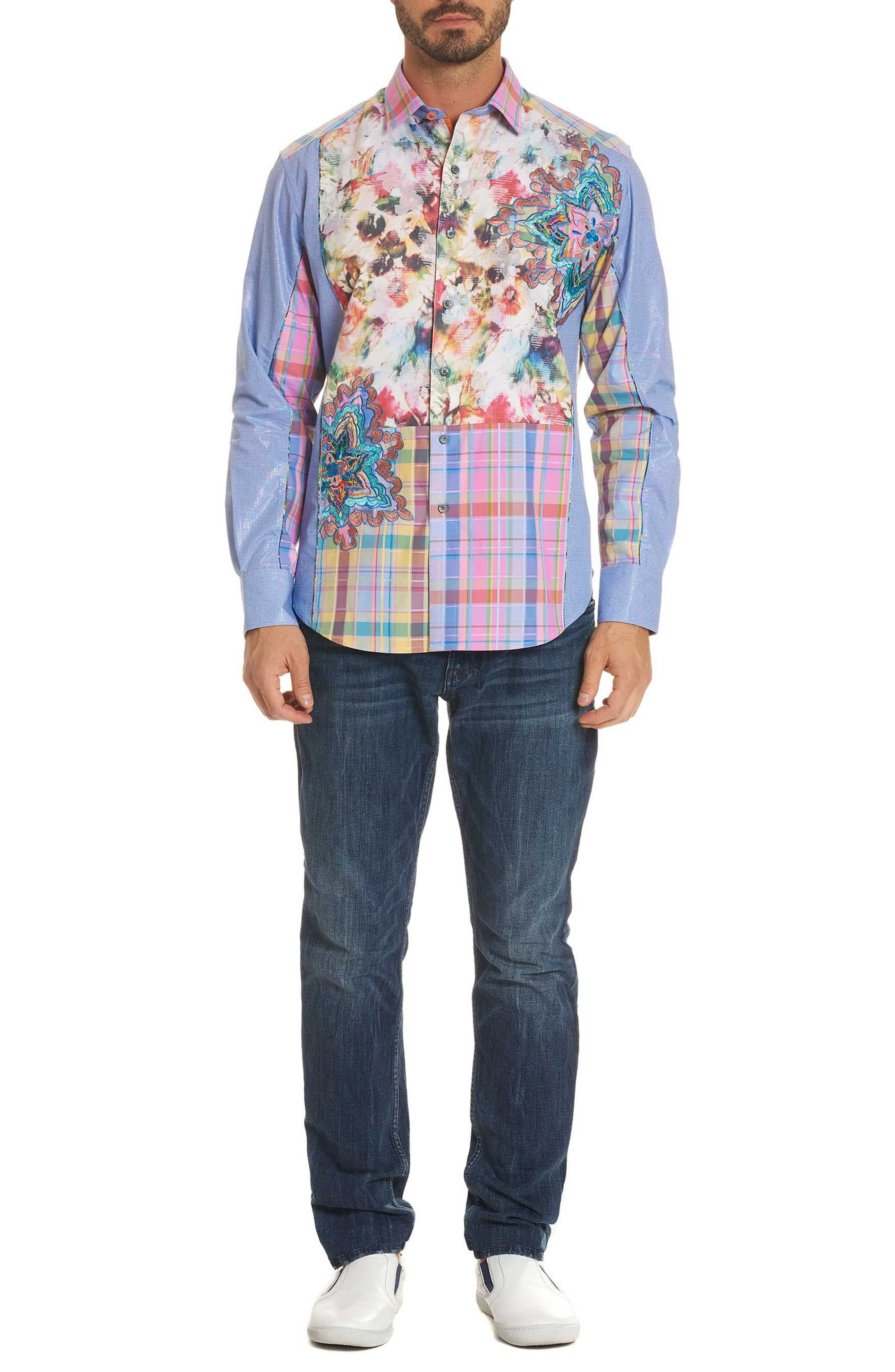 Be Frank Limited Edition Classic Fit Sport Shirt,                             Alternate thumbnail 7, color,