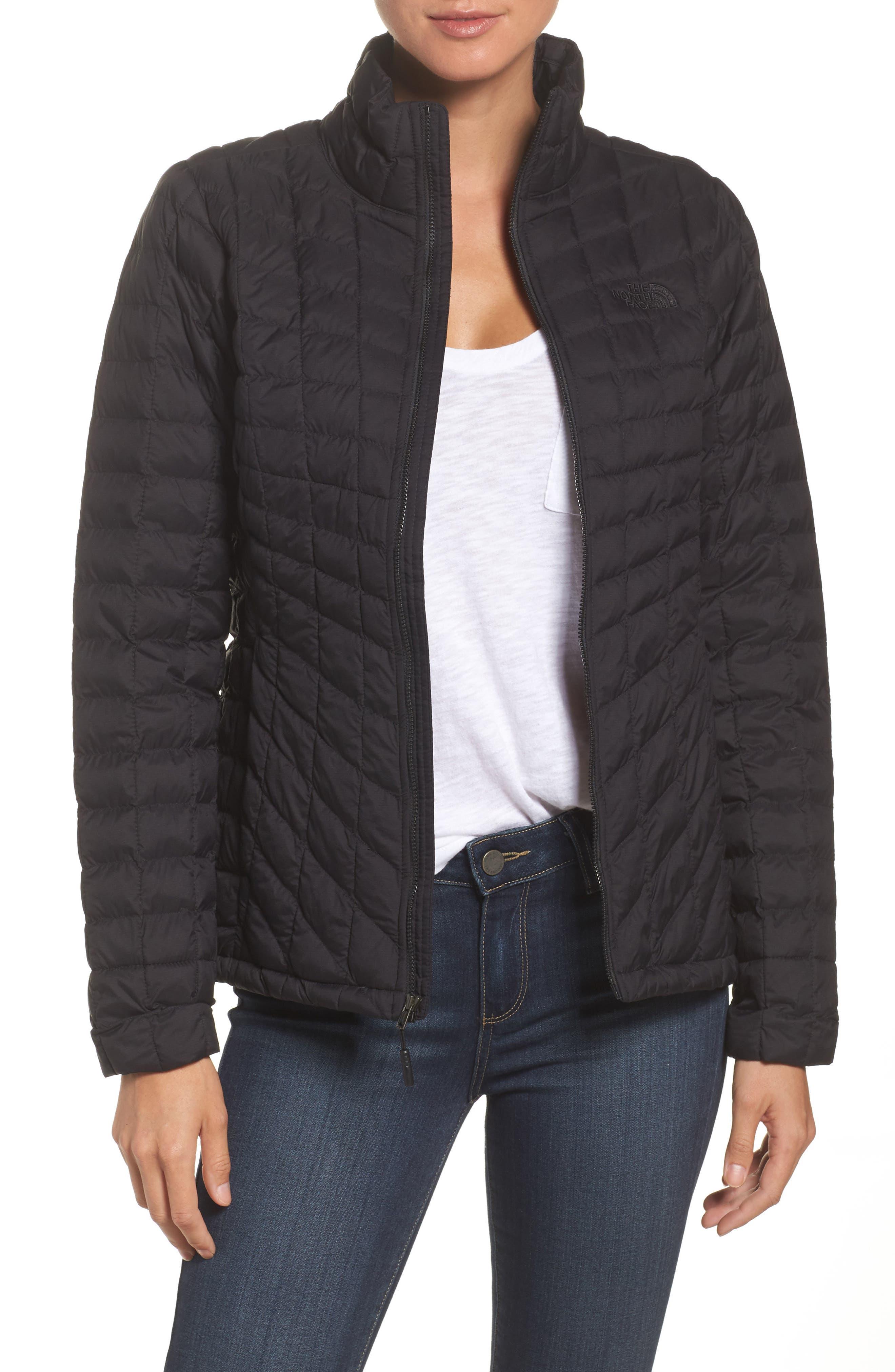 ThermoBall<sup>™</sup> Full Zip Jacket,                             Main thumbnail 1, color,                             BLACK MATTE