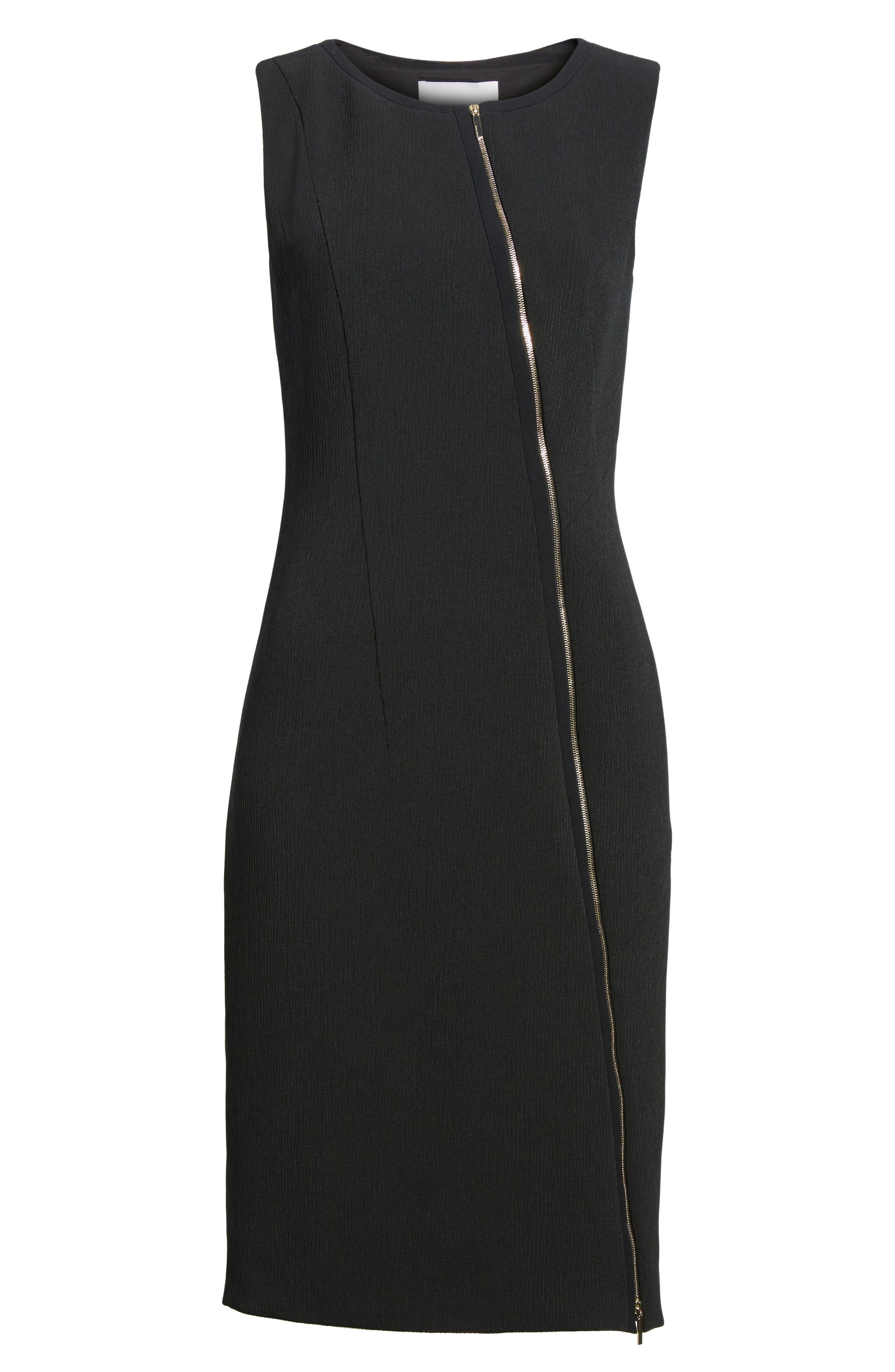 Danafea Dress,                             Alternate thumbnail 6, color,                             001
