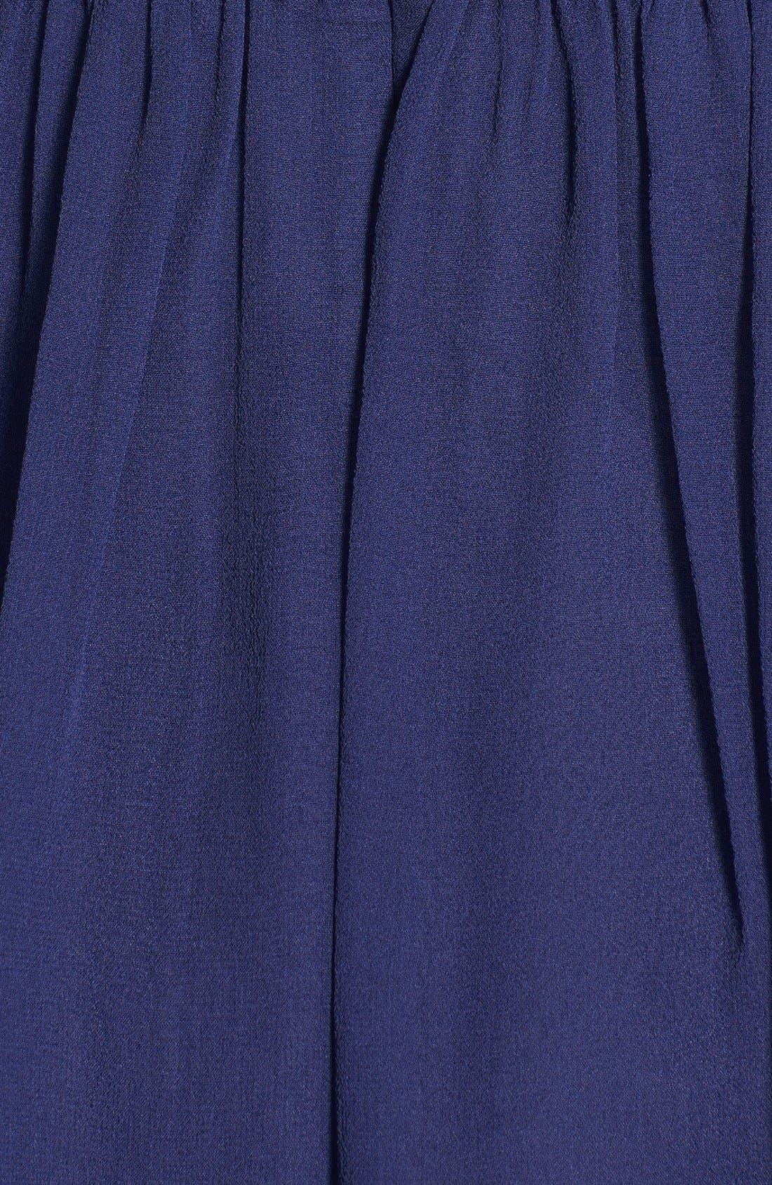 'Morgan' Strapless Silk Chiffon Dress,                             Alternate thumbnail 83, color,