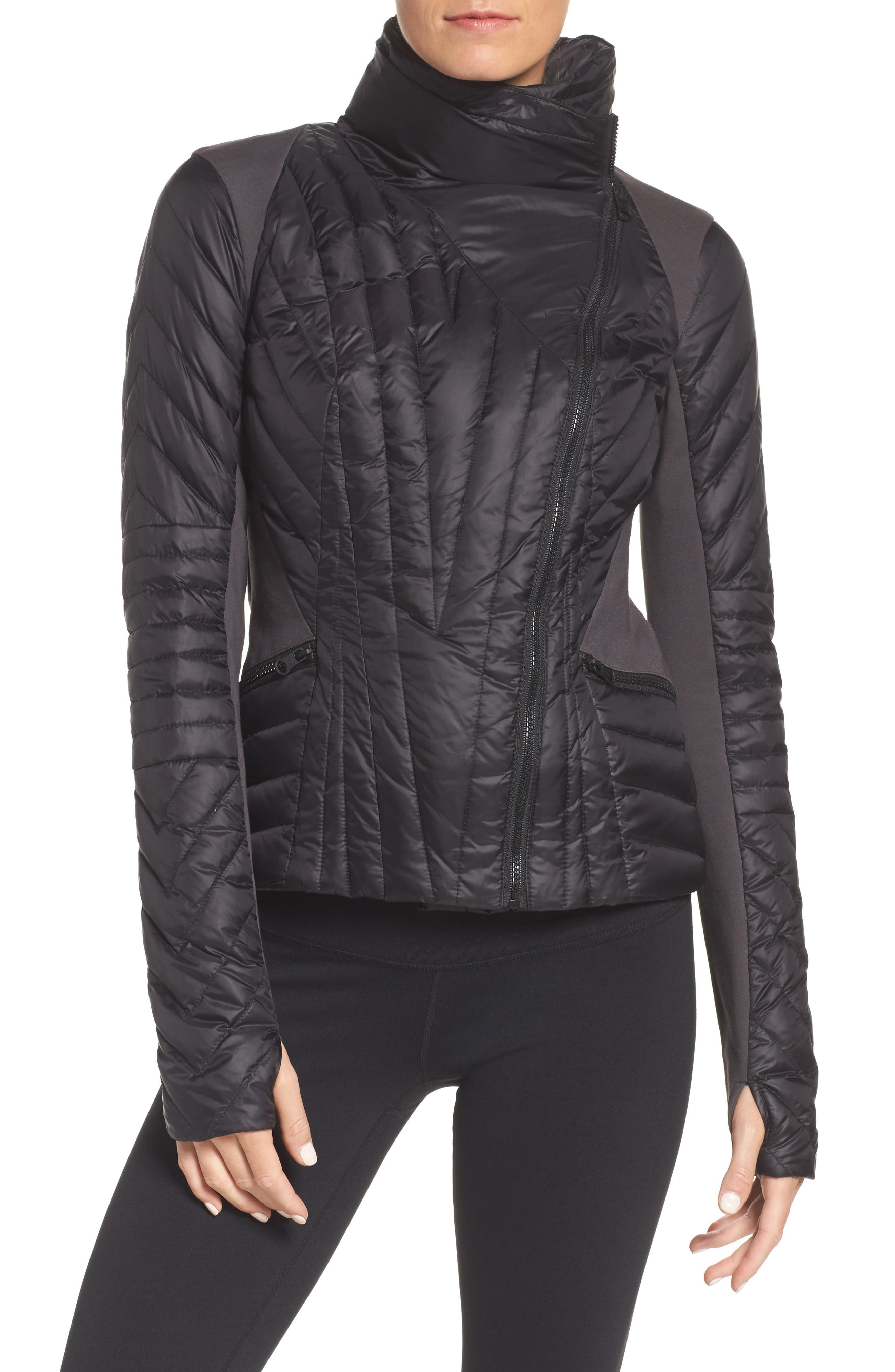 Motion Panel Down Puffer Jacket,                         Main,                         color, 009