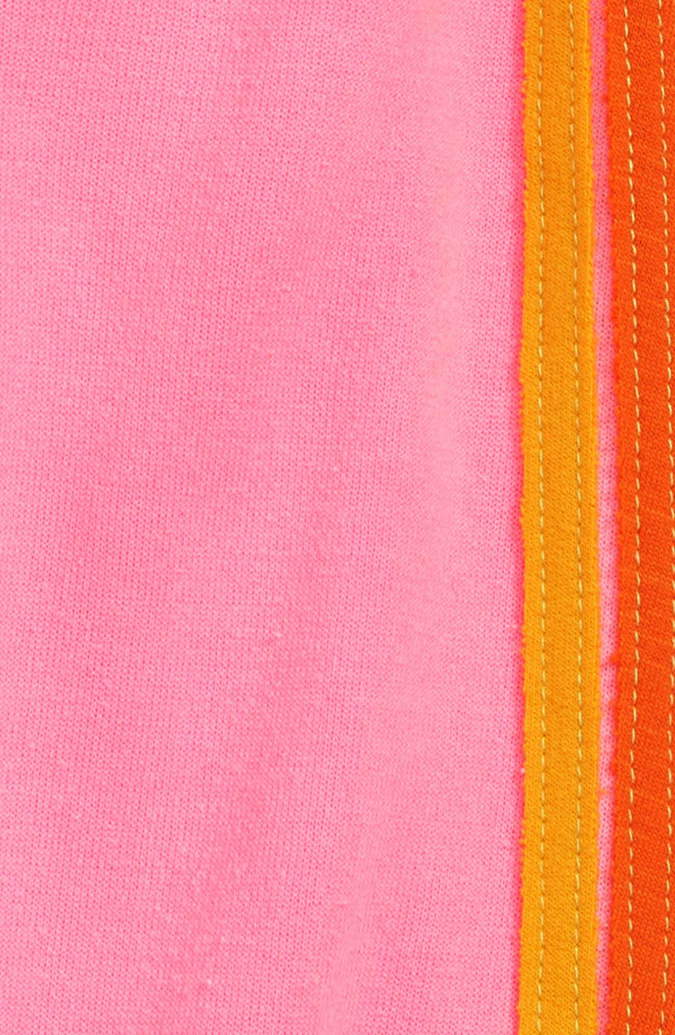 5-Stripe Sweatpants,                             Alternate thumbnail 3, color,                             NEON PINK